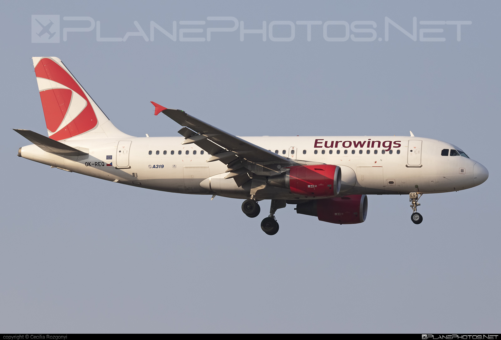 Airbus A319-112 - OK-REQ operated by Eurowings #a319 #a320family #airbus #airbus319 #eurowings