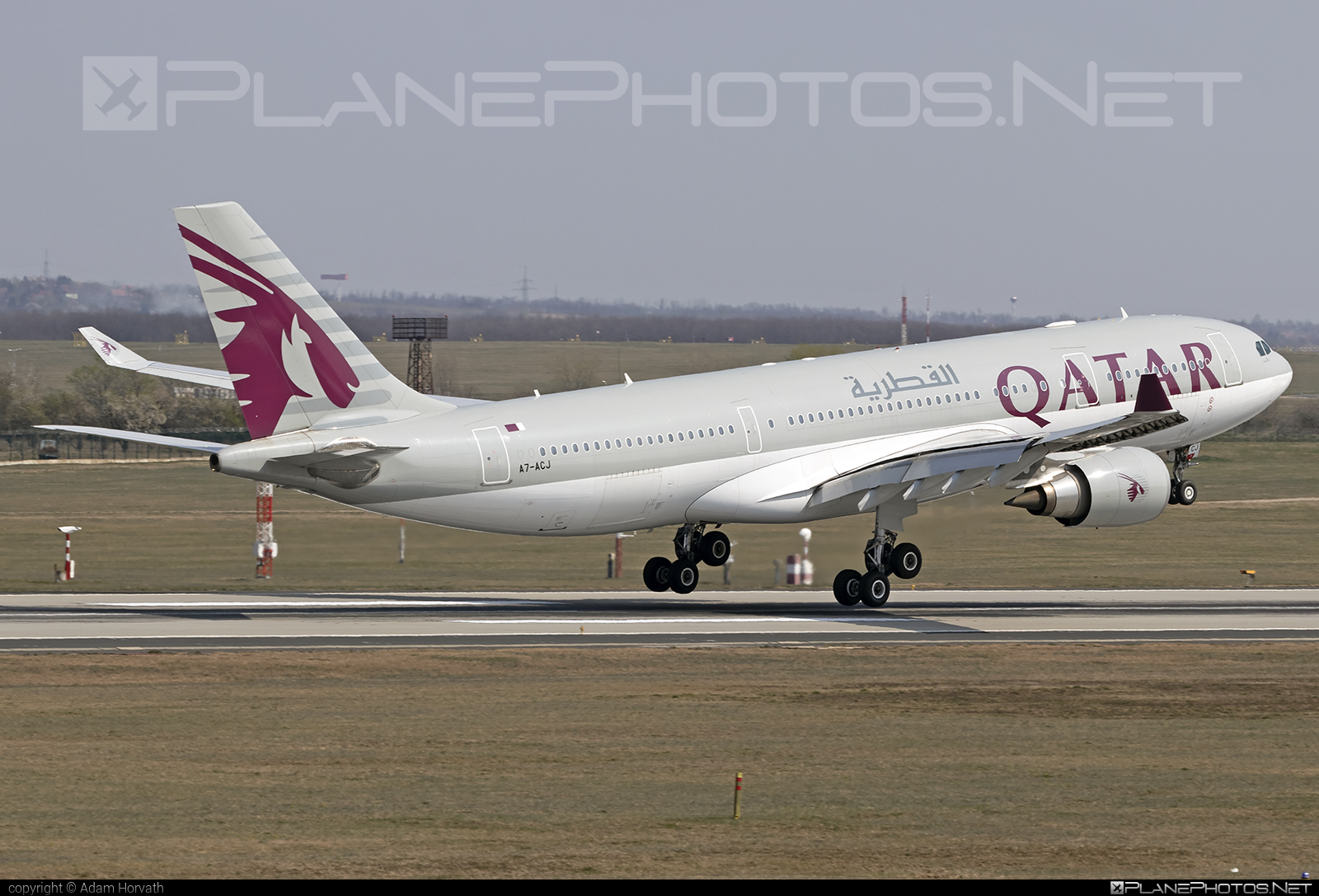 Qatar Airways Airbus A330-202 - A7-ACJ #a330 #a330family #airbus #airbus330 #qatarairways