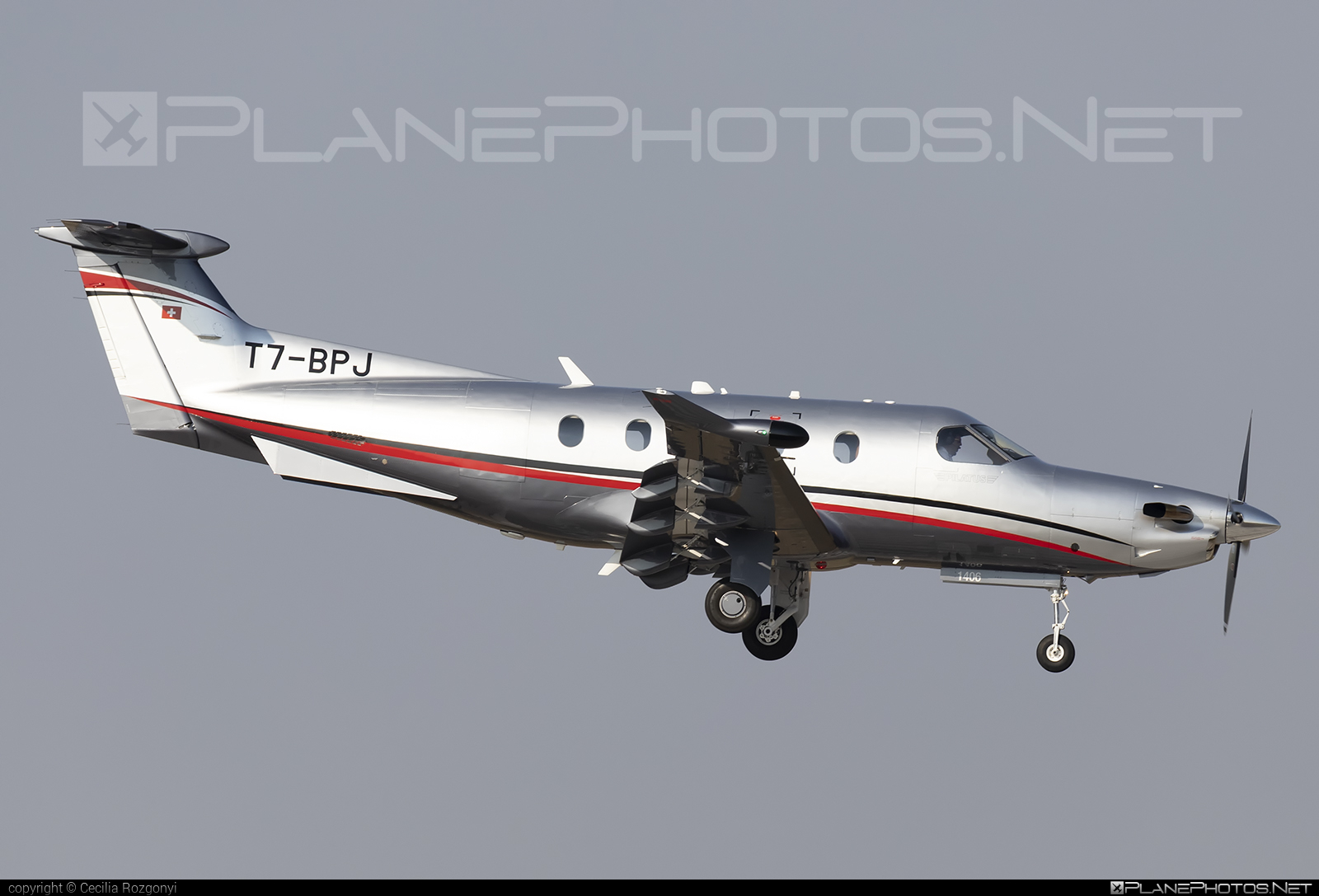 Pilatus PC-12/47E - T7-BPJ operated by Private operator #pilatus
