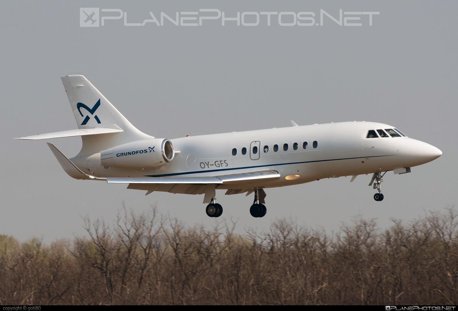 Air Alsie Dassault Falcon 2000LXS - OY-GFS #dassault #dassaultfalcon #dassaultfalcon2000lxs #falcon2000 #falcon2000lxs