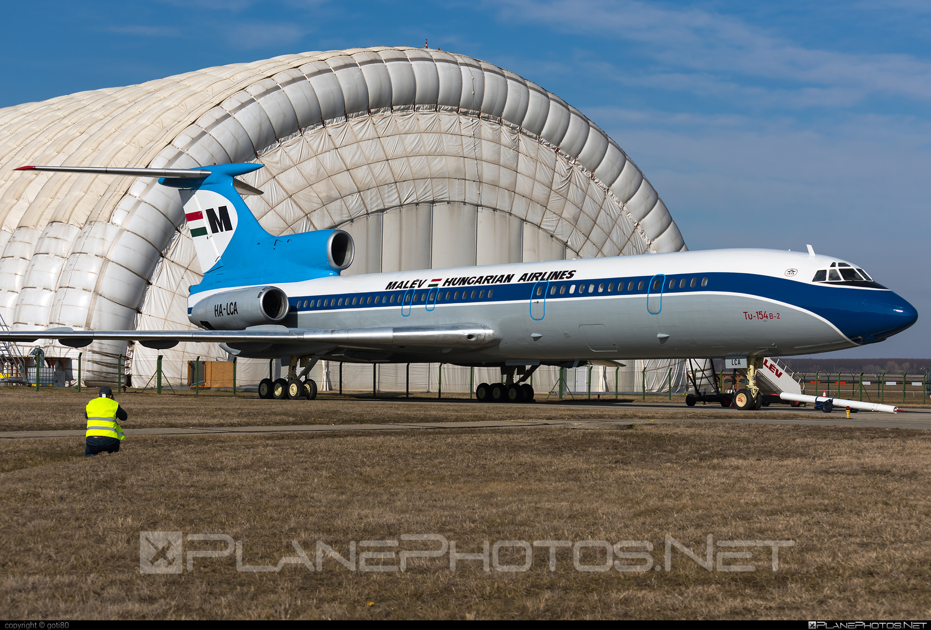 Tupolev Tu-154B-2 - HA-LCA operated by Malev Hungarian Airlines #tu154 #tu154b2 #tupolev