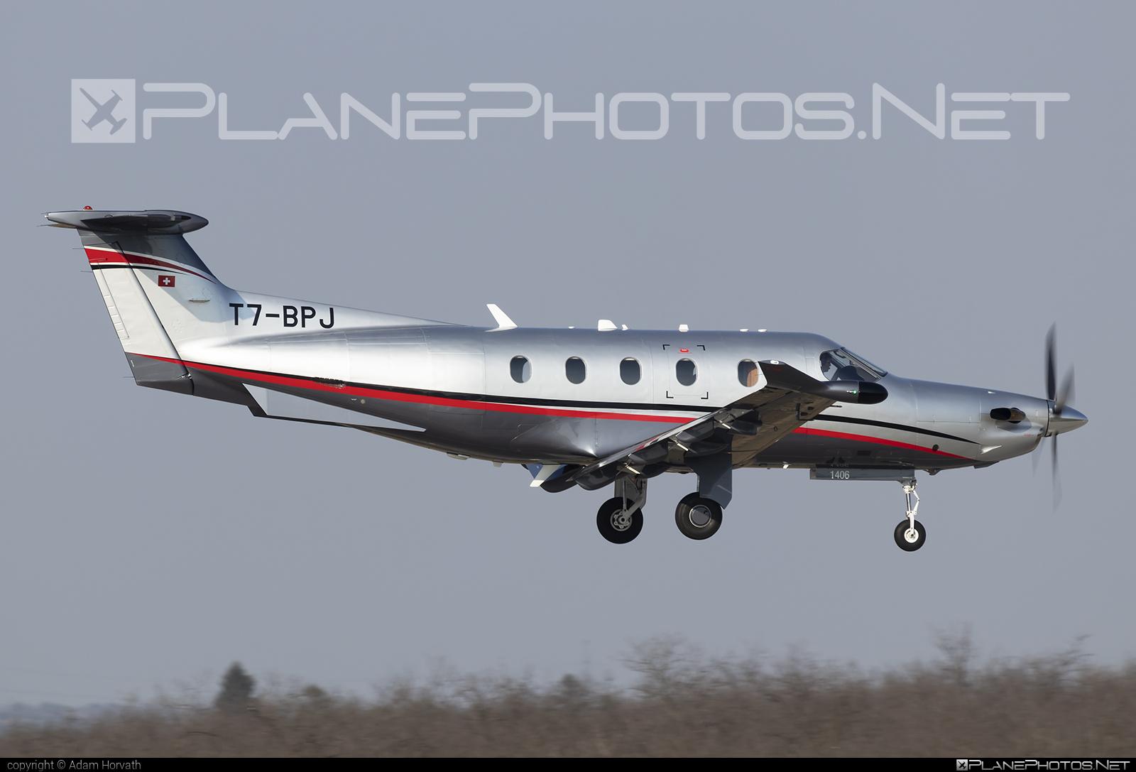 Private operator Pilatus PC-12/47E - T7-BPJ #pilatus