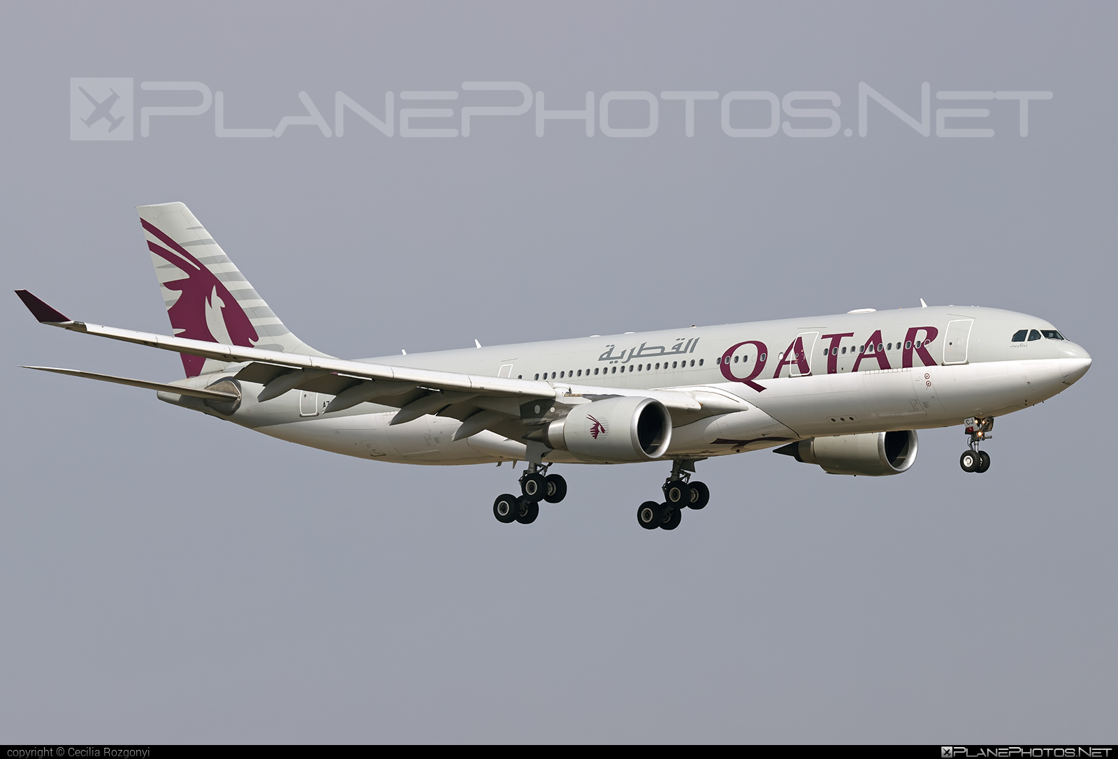 Airbus A330-202 - A7-ACJ operated by Qatar Airways #a330 #a330family #airbus #airbus330 #qatarairways