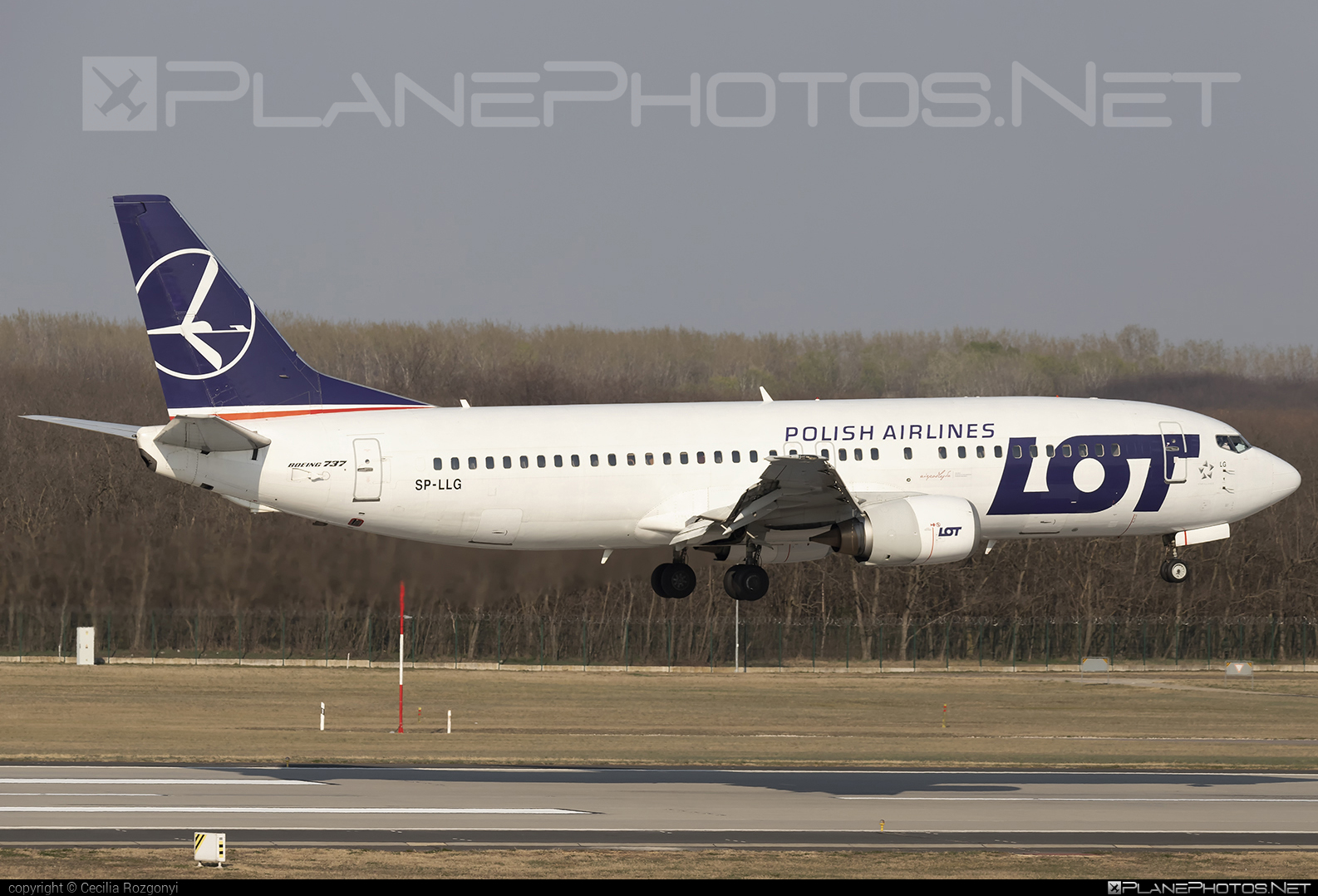 LOT Polish Airlines Boeing 737-400 - SP-LLG #b737 #boeing #boeing737 #lot #lotpolishairlines