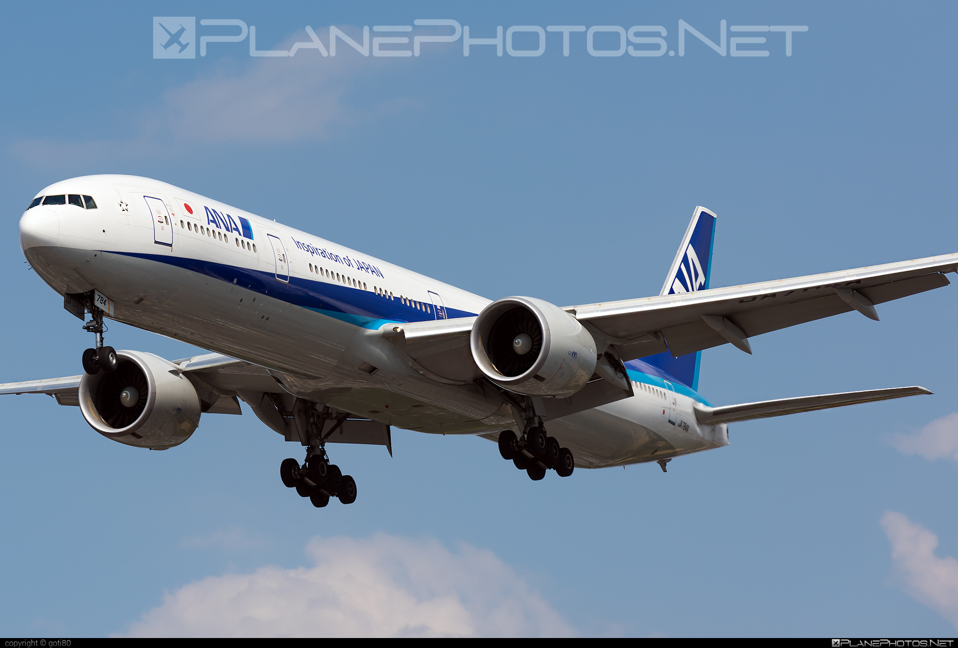 Boeing 777-300ER - JA784A operated by All Nippon Airways (ANA) #b777 #b777er #boeing #boeing777 #tripleseven