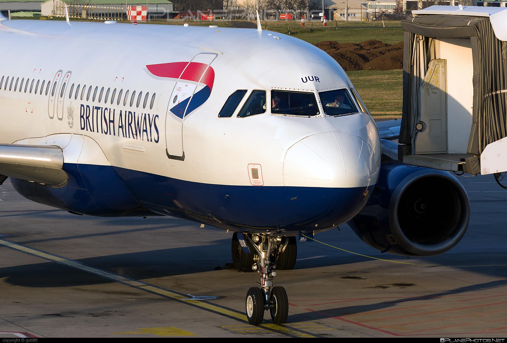 British Airways Airbus A320-232 - G-EUUR #a320 #a320family #airbus #airbus320 #britishairways