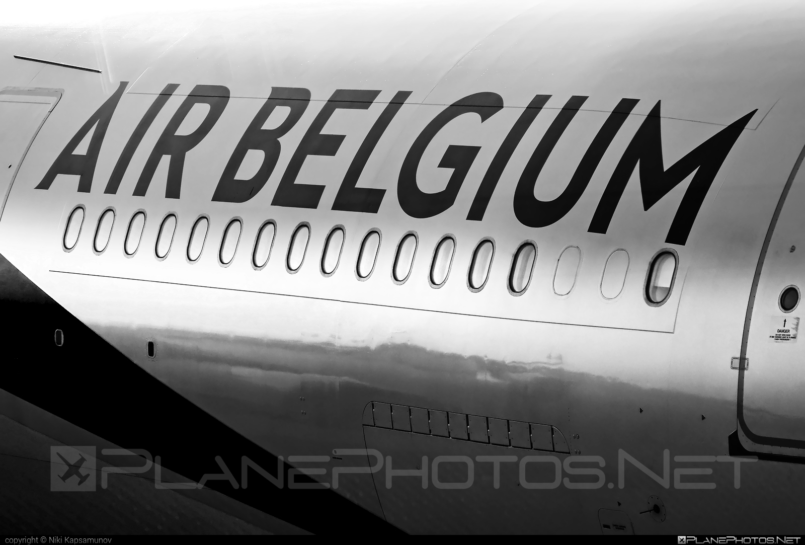 Airbus A340-313E - OO-ABA operated by Air Belgium #a340 #a340family #airbelgium #airbus #airbus340