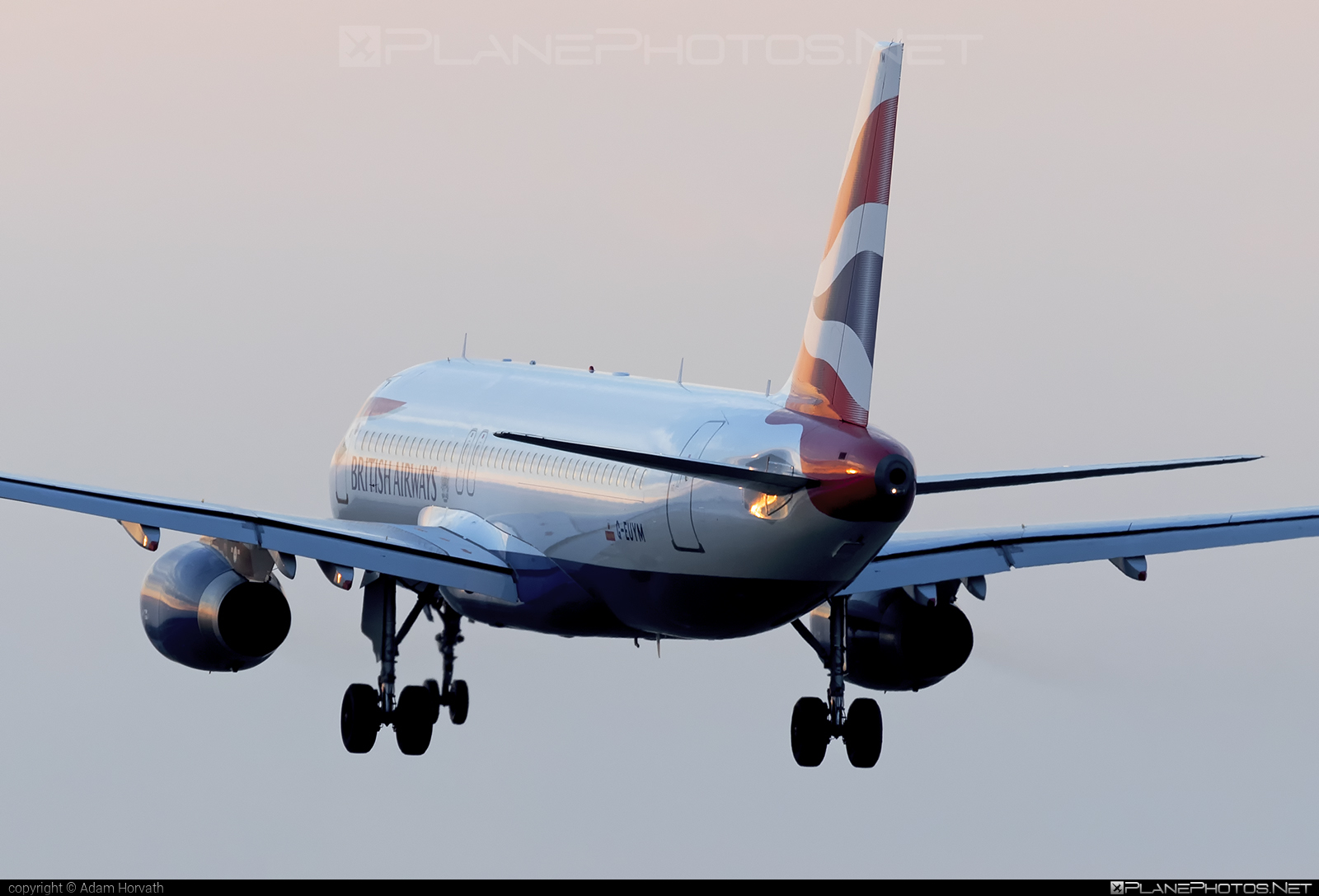 British Airways Airbus A320-232 - G-EUYM #a320 #a320family #airbus #airbus320 #britishairways