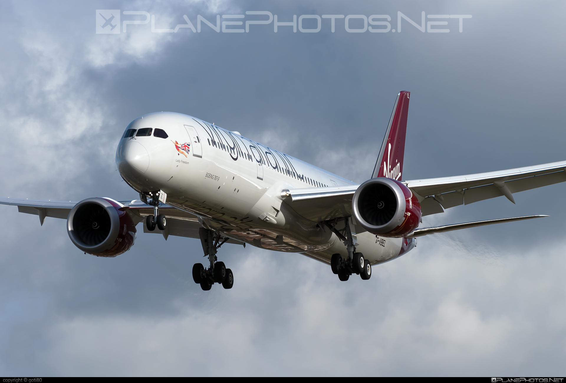 Boeing 787-9 Dreamliner - G-VBEL operated by Virgin Atlantic Airways #b787 #boeing #boeing787 #dreamliner #virginatlantic #virginatlanticairways