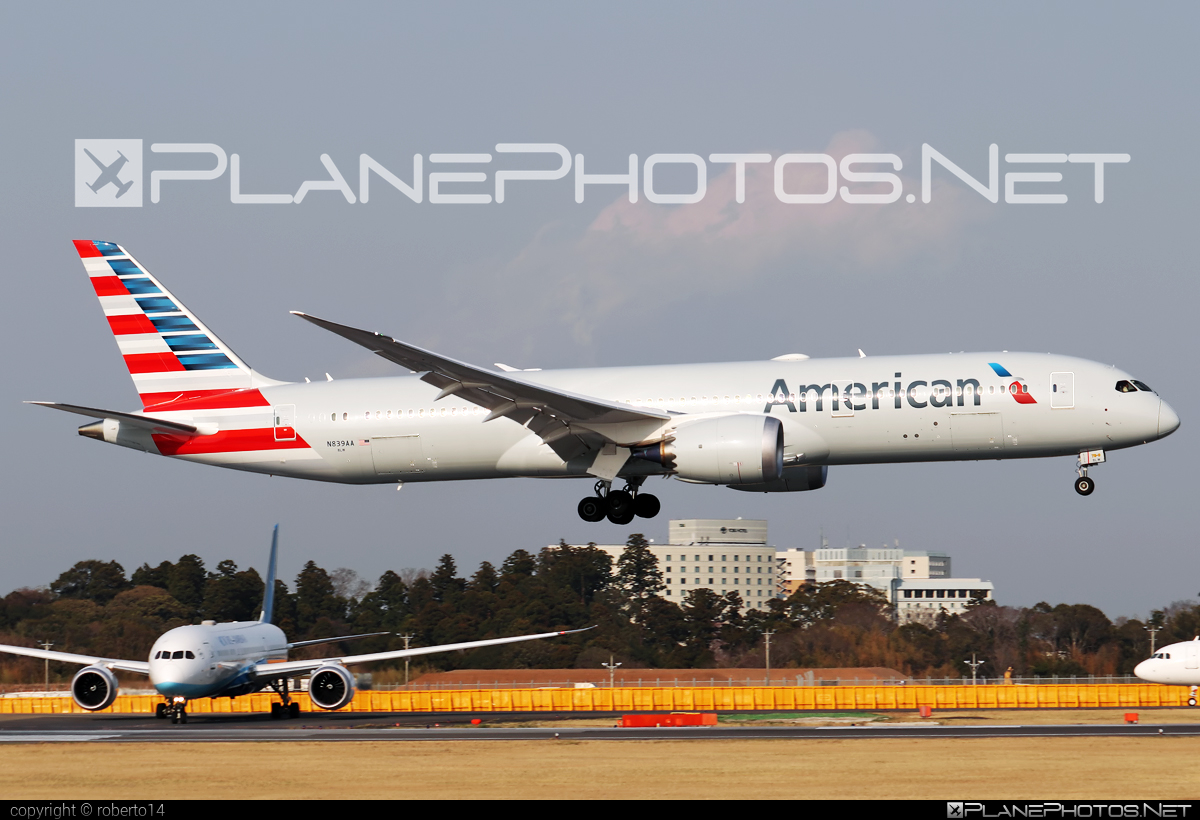 Boeing 787-9 Dreamliner - N839AA operated by American Airlines #americanairlines #b787 #boeing #boeing787 #dreamliner