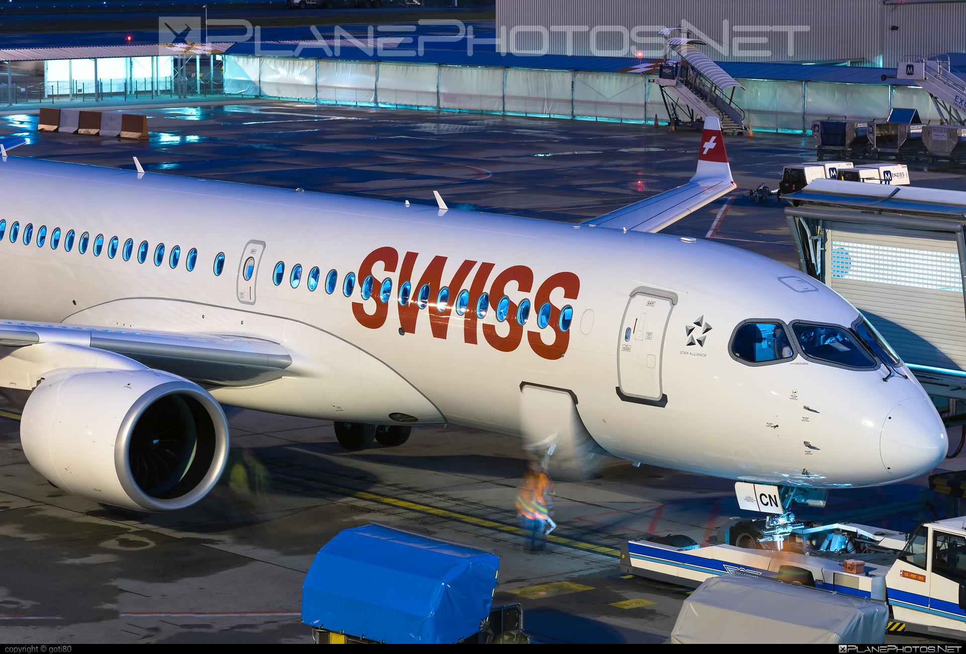 Swissair Airbus A220-300 - HB-JCN #a220300 #a220family #airbus #cs300 #cseries #cseries300 #swissair