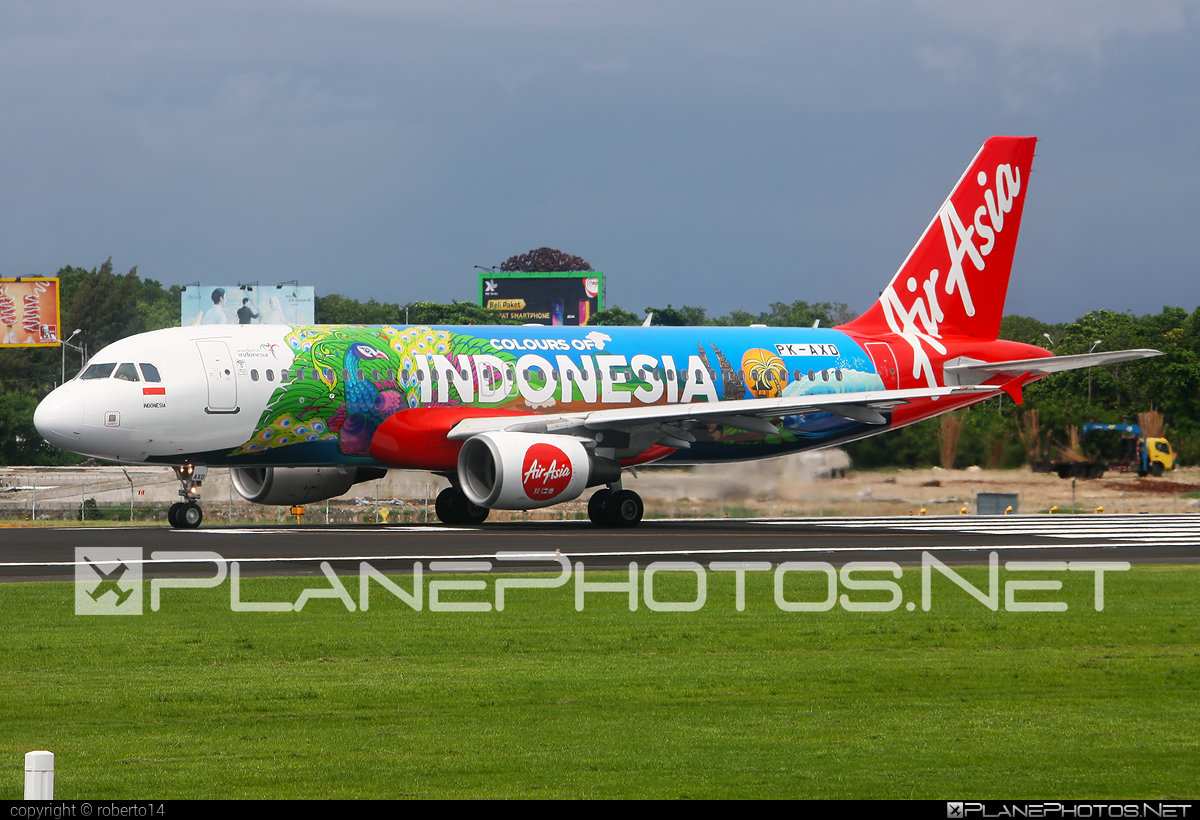Airbus A320-216 - PK-AXD operated by Indonesia AirAsia #a320 #a320family #airbus #airbus320