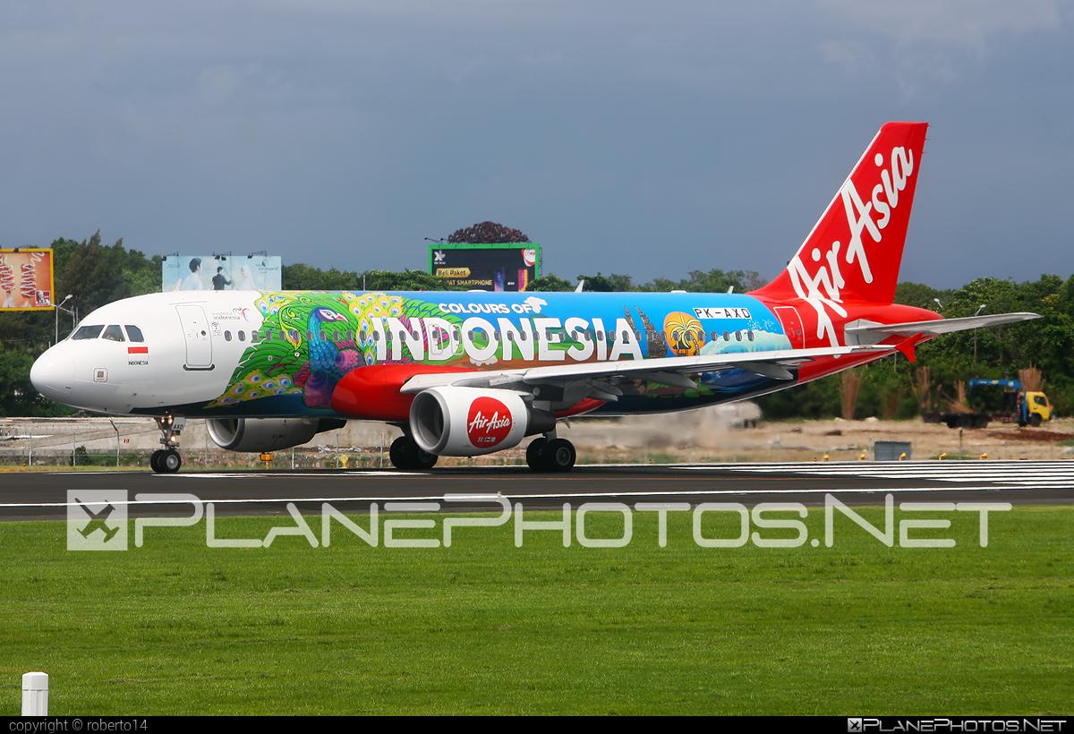 Indonesia AirAsia Airbus A320-216 - PK-AXD #a320 #a320family #airbus #airbus320