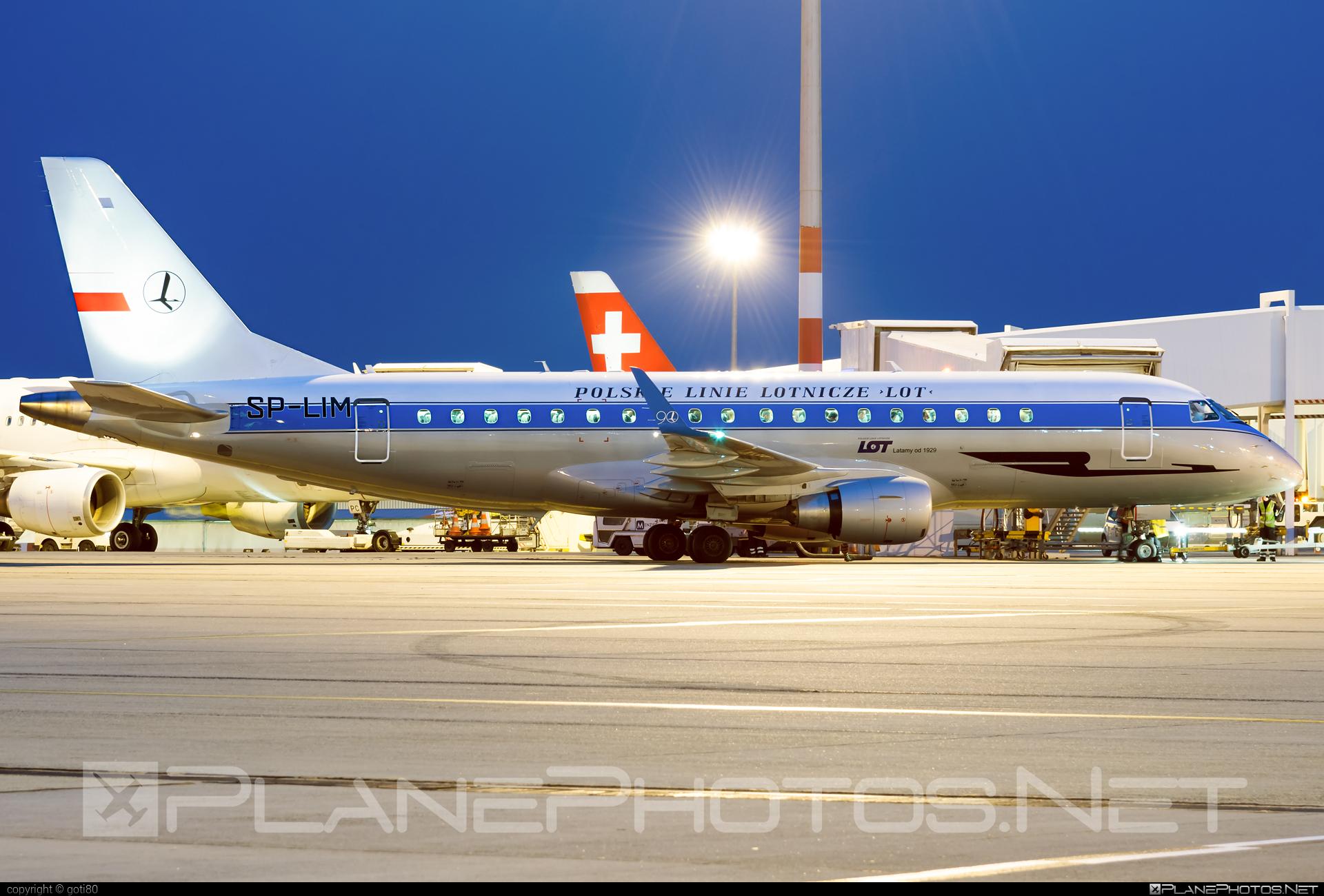 LOT Polish Airlines Embraer 170-200LR - SP-LIM #embraer #lot #lotpolishairlines
