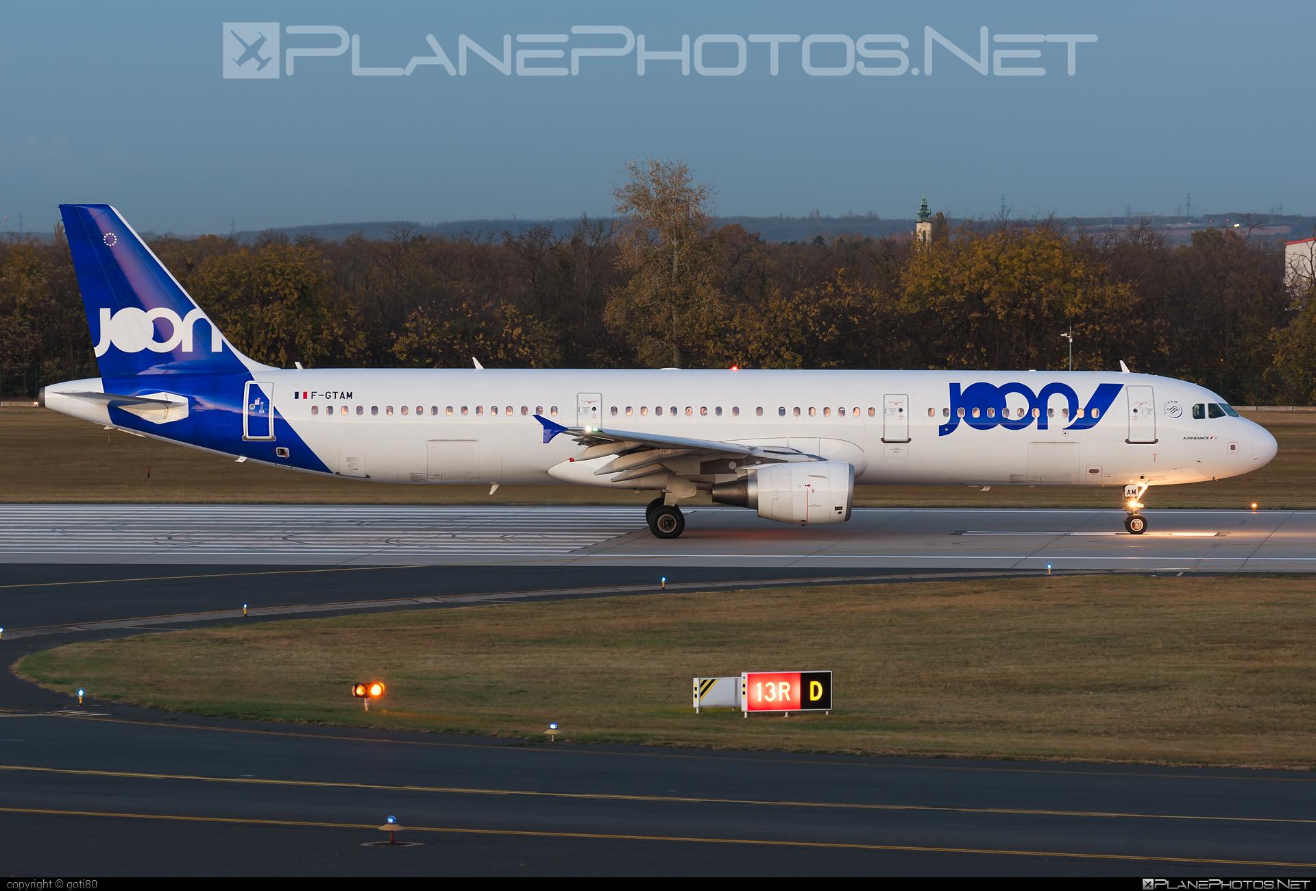 Joon Airbus A321-211 - F-GTAM #a320family #a321 #airbus #airbus321 #joon