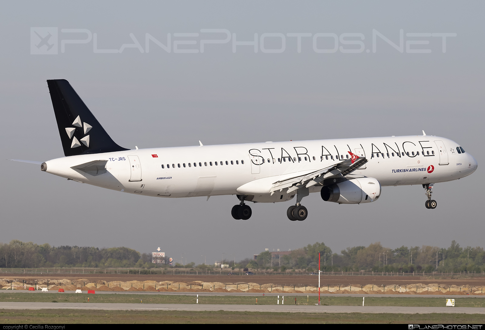 Turkish Airlines Airbus A321-231 - TC-JRS #a320family #a321 #airbus #airbus321 #staralliance #turkishairlines
