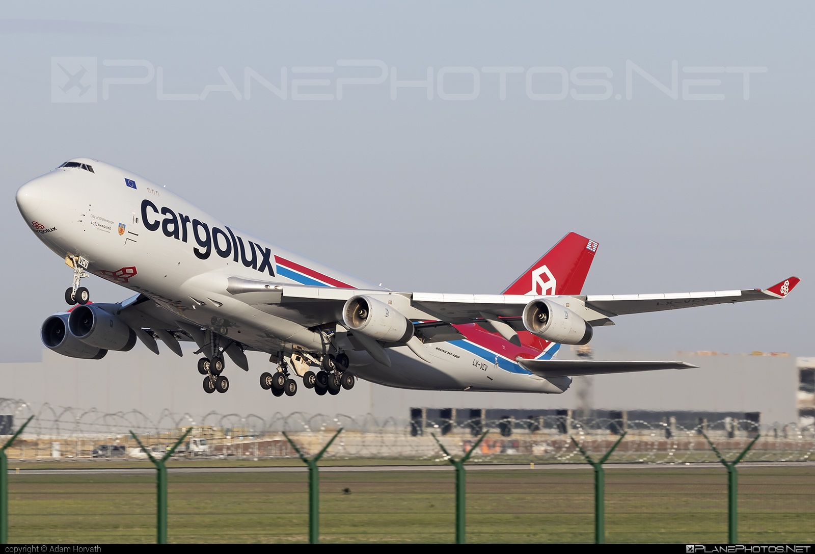 Boeing 747-400F - LX-VCV operated by Cargolux Airlines International #b747 #boeing #boeing747 #cargolux #jumbo