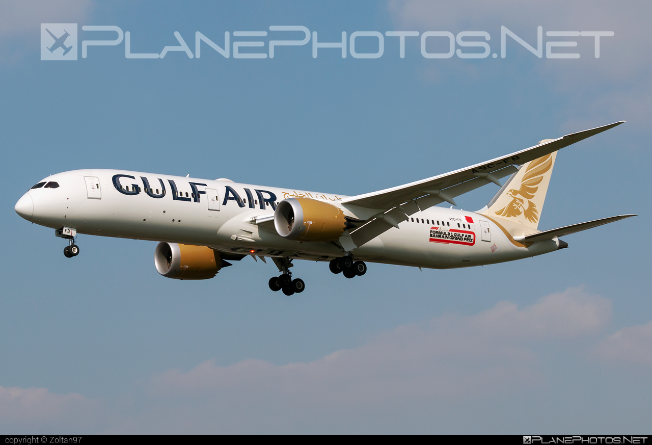 Boeing 787-9 Dreamliner - A9C-FB operated by Gulf Air #b787 #boeing #boeing787 #dreamliner #gulfair