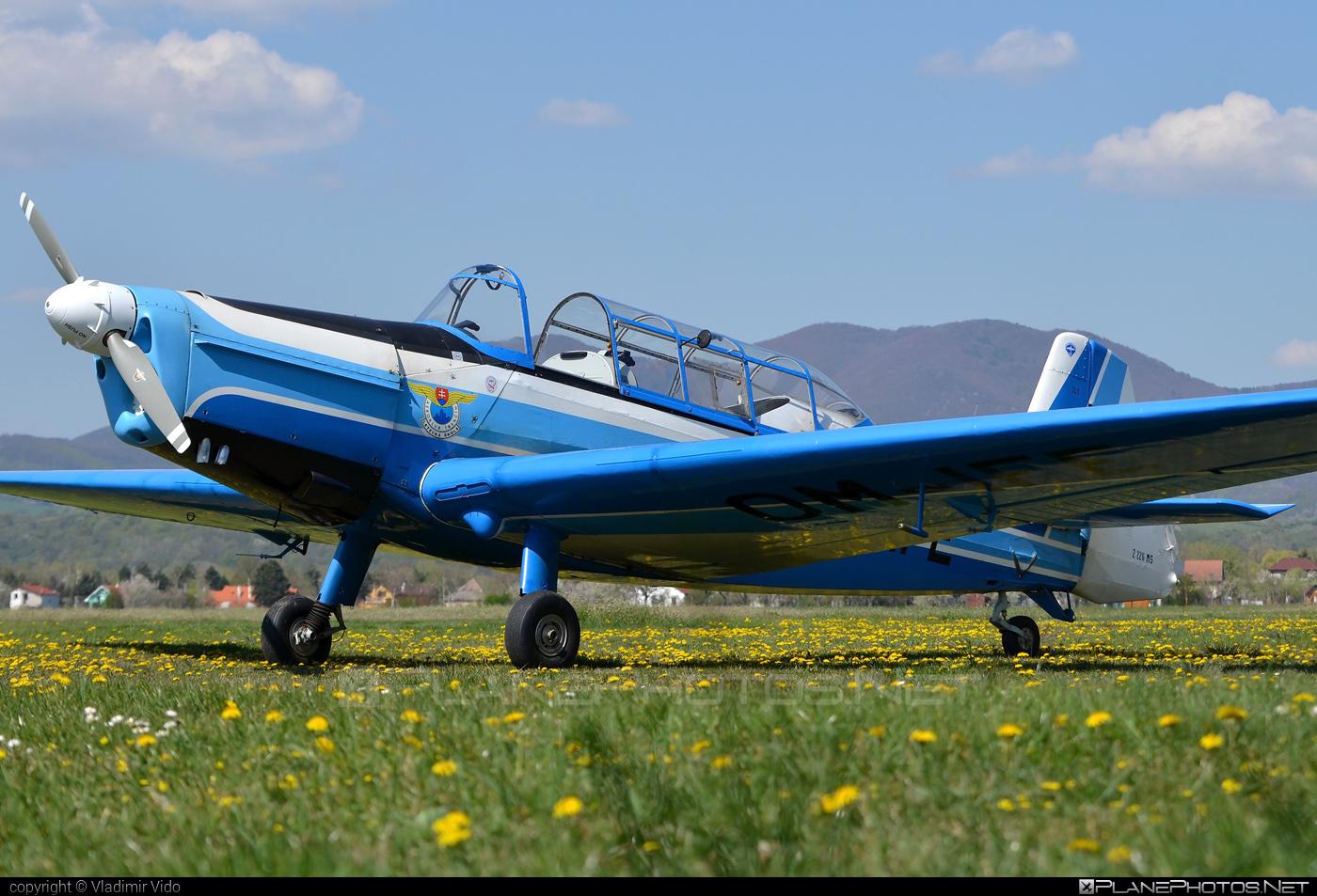 Zlin Z-226MS Trenér - OM-IFE operated by Aeroklub Trenčín #z226 #z226trener #zlin #zlin226 #zlintrener