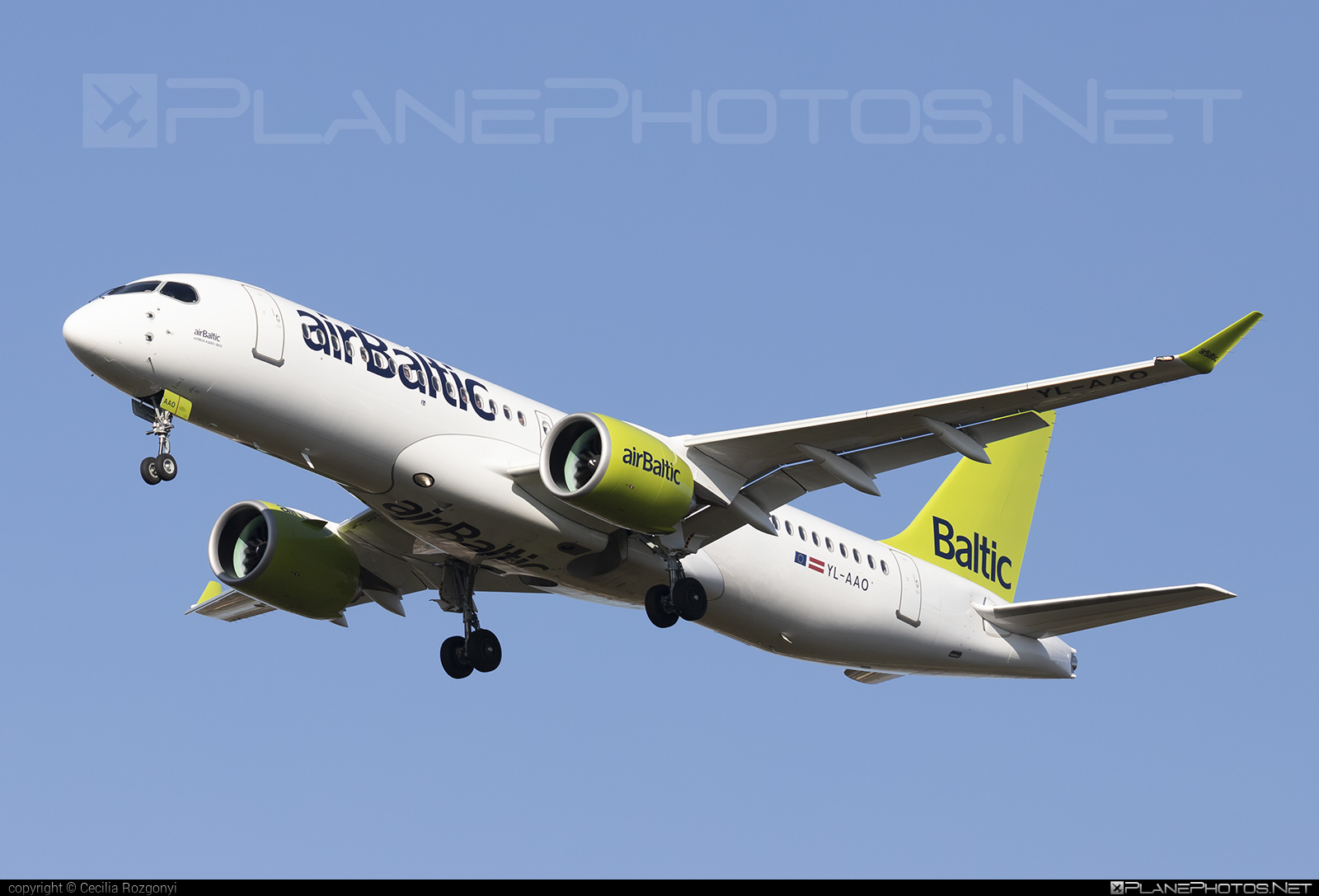 Airbus A220-300 - YL-AAO operated by Air Baltic #a220300 #a220family #airbaltic #airbus #cs300 #cseries #cseries300