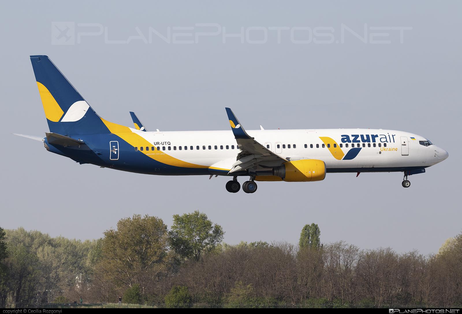 Azur Air Ukraine Boeing 737-800 - UR-UTQ #azurair #azurairukraine #b737 #b737nextgen #b737ng #boeing #boeing737