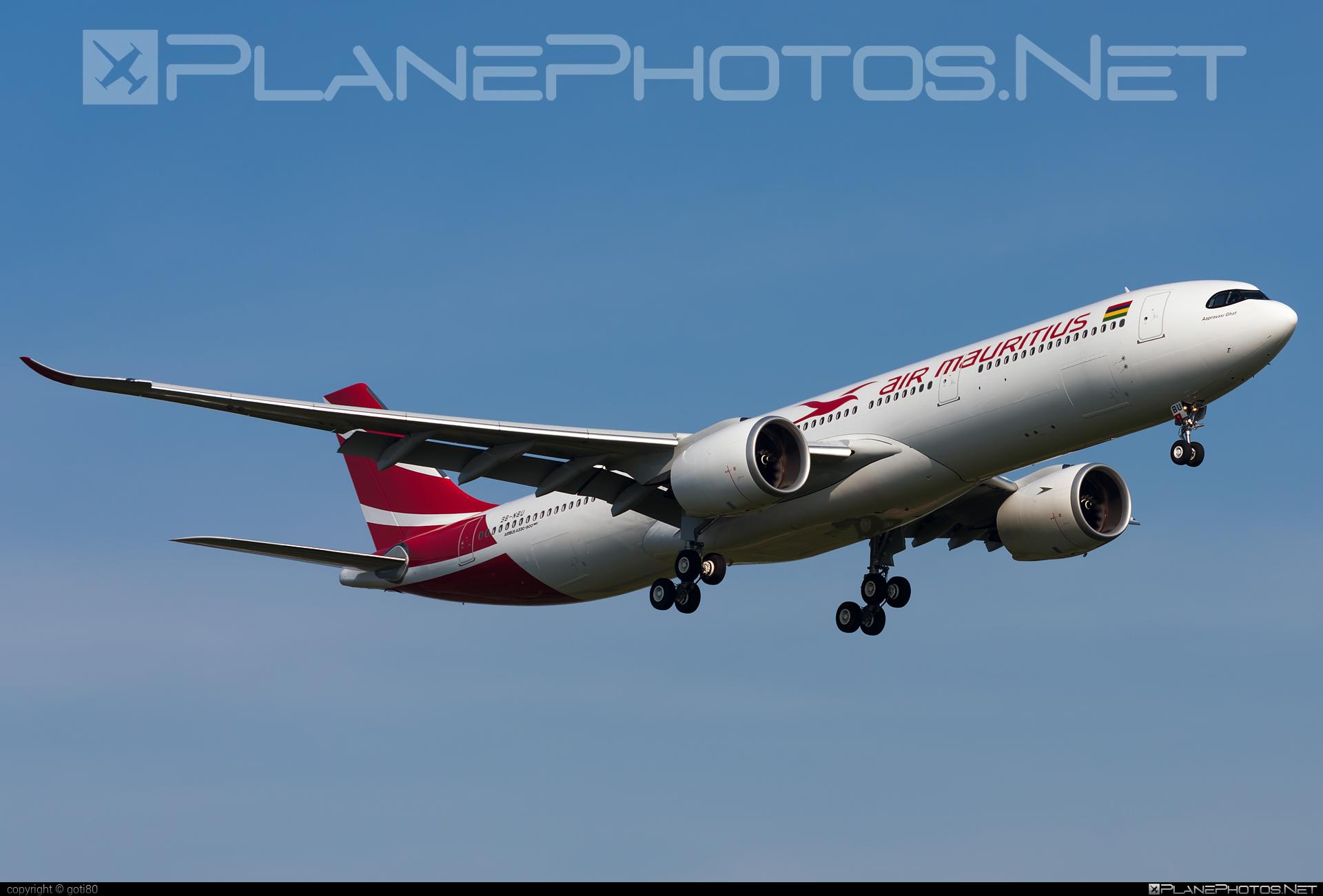 Airbus A330-941N - 3B-NBU operated by Air Mauritius #a330 #a330family #a330neo #airbus #airbus330