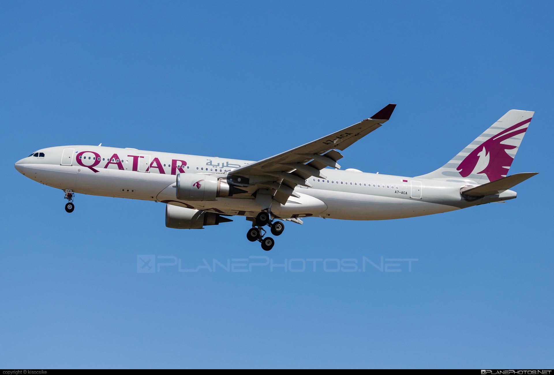 Airbus A330-202 - A7-ACA operated by Qatar Airways #a330 #a330family #airbus #airbus330 #qatarairways