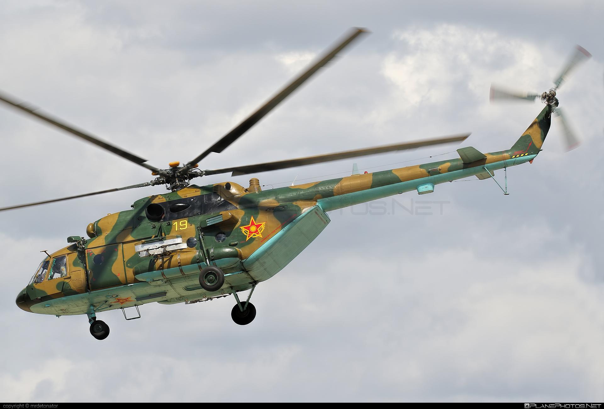 Mil Mi-17V-5 - 19 operated by Kazakhstan Air Defence Force #mi17 #mi17v5 #mil #mil17 #milhelicopters