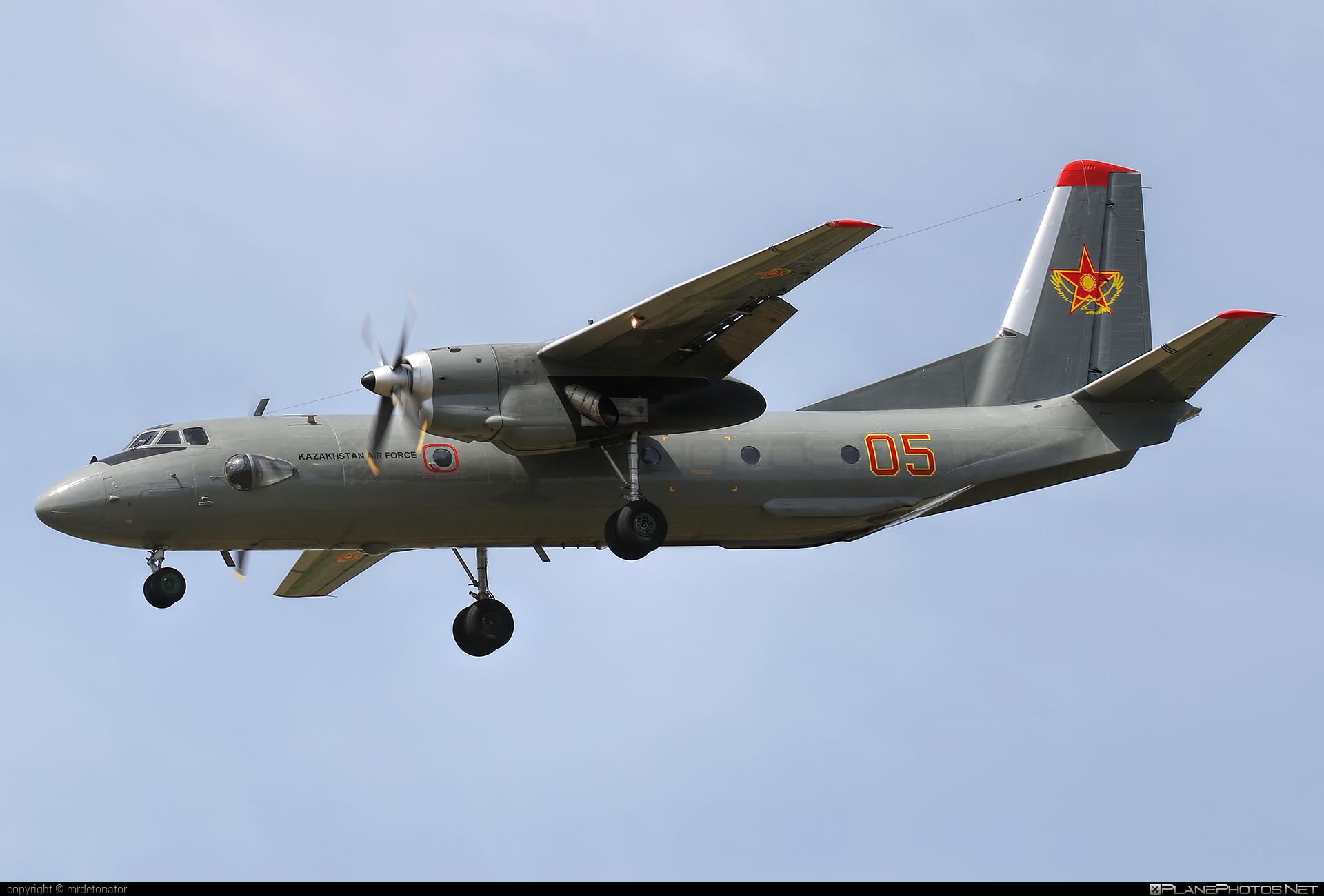 Antonov An-26 - 05 operated by Kazakhstan - Government #an26 #antonov #antonov26