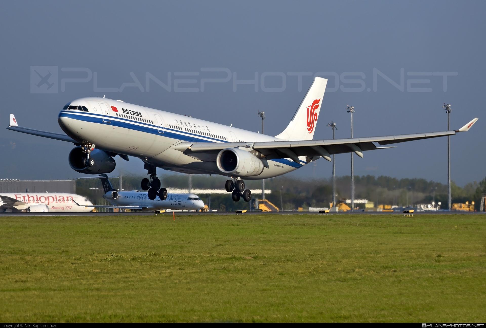 Airbus A330-343 - B-5919 operated by Air China #a330 #a330family #airbus #airbus330 #airchina