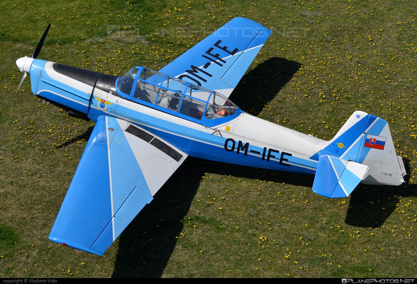 Aeroklub Trenčín Zlin Z-226MS Trenér - OM-IFE #z226 #z226trener #zlin #zlin226 #zlintrener