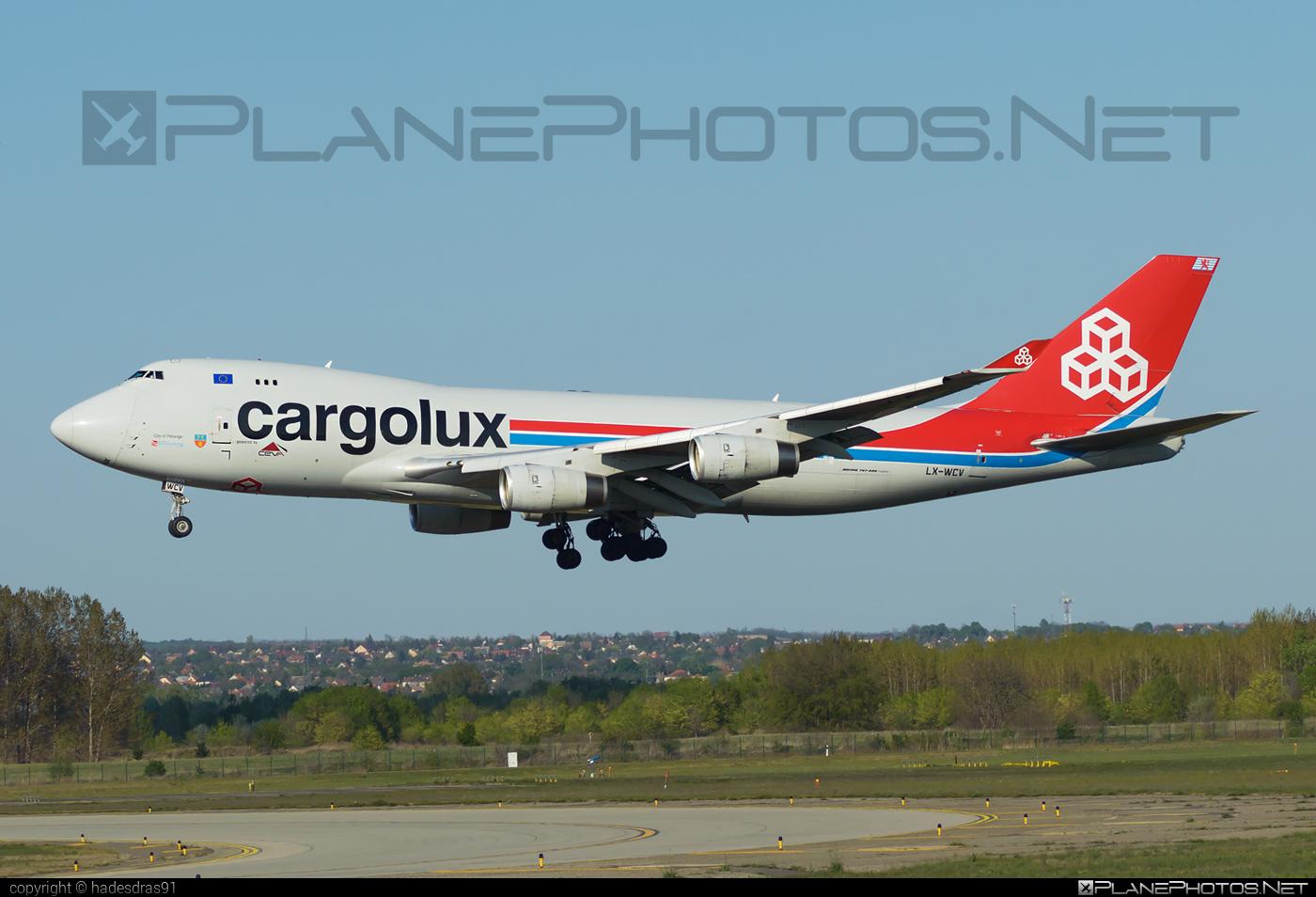 Boeing 747-400F - LX-WCV operated by Cargolux Airlines International #b747 #boeing #boeing747 #cargolux #jumbo