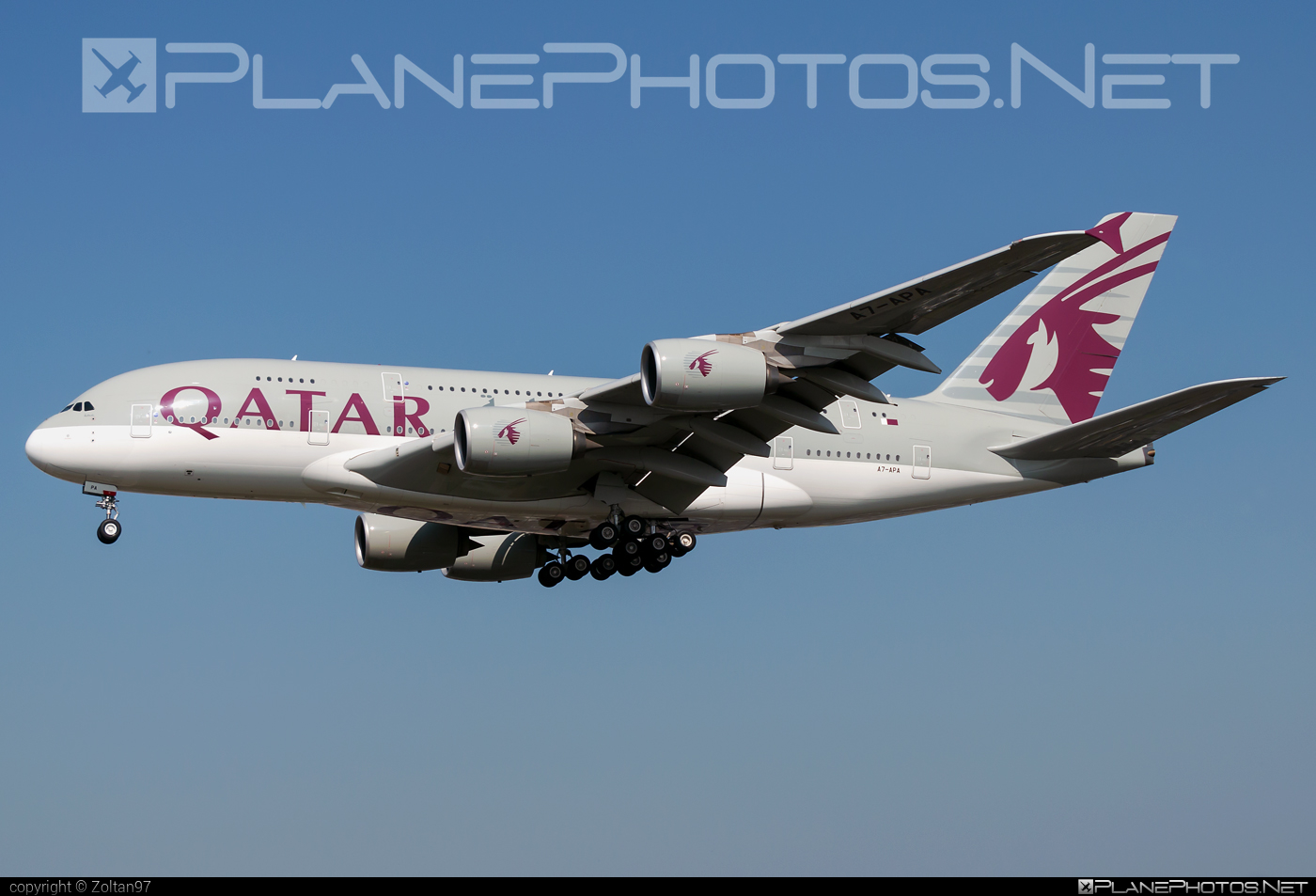 Airbus A380-861 - A7-APA operated by Qatar Airways #a380 #a380family #airbus #airbus380 #qatarairways