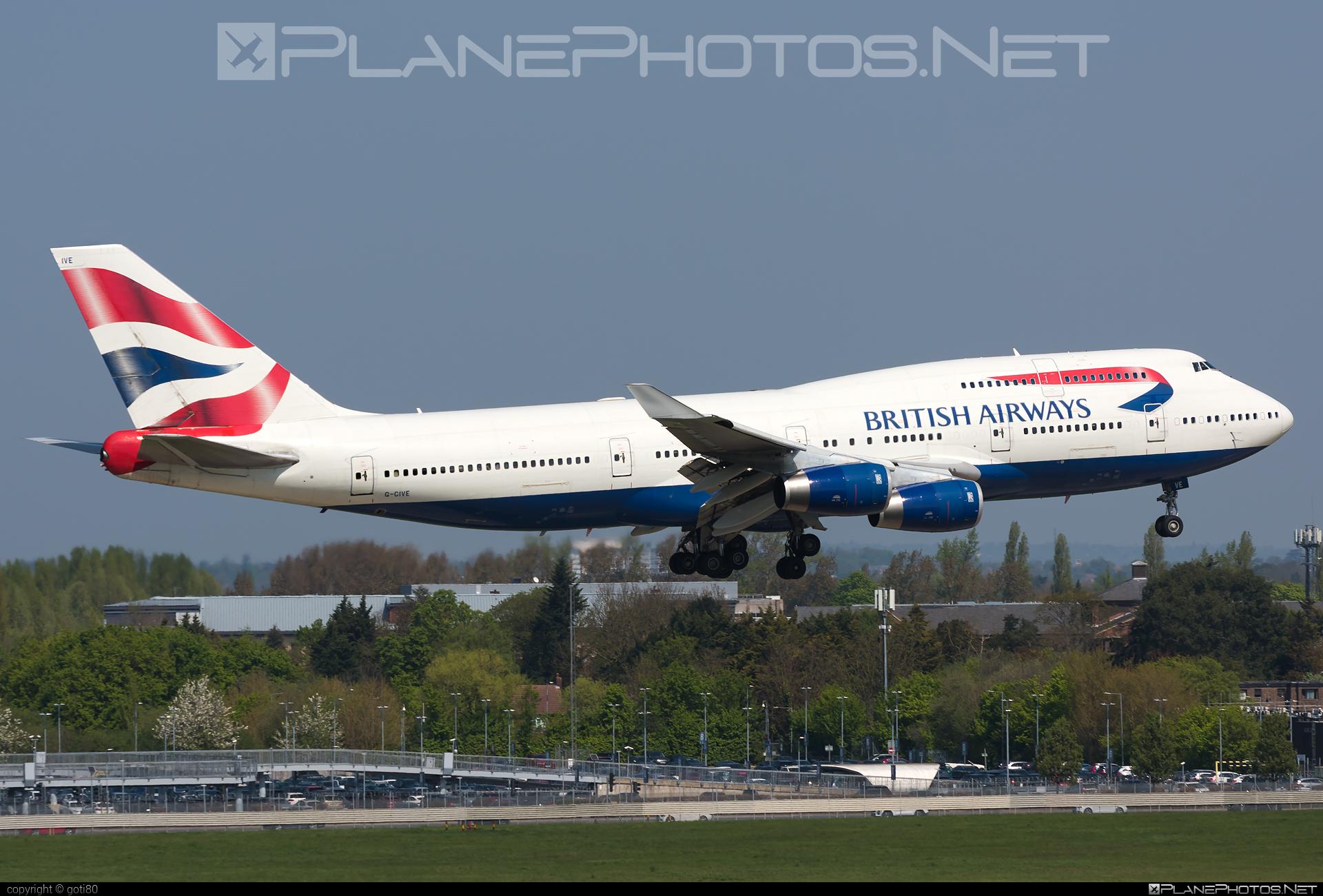 Boeing 747-400 - G-CIVE operated by British Airways #b747 #boeing #boeing747 #britishairways #jumbo