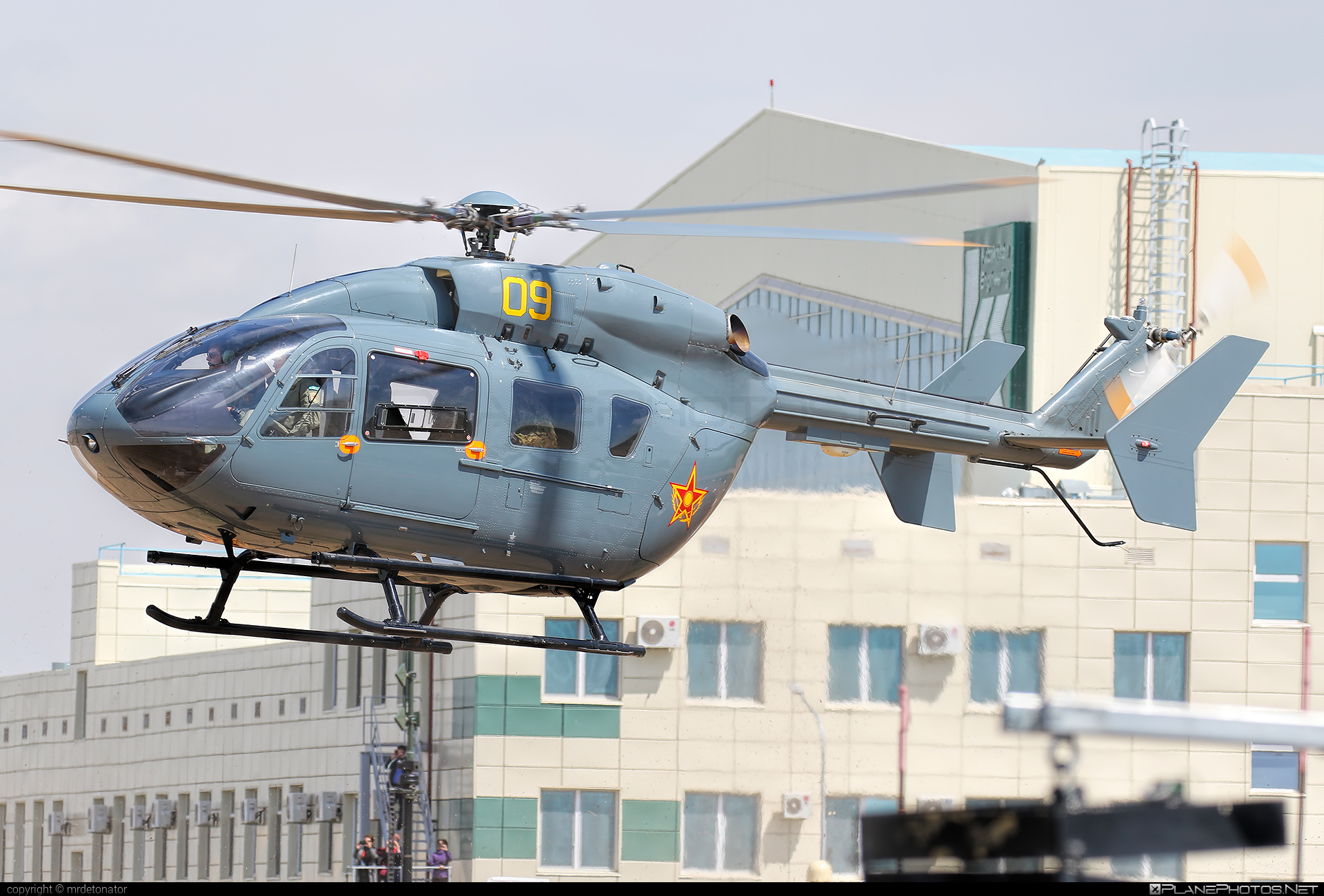 Eurocopter EC145 - 09 operated by Kazakhstan Air Defence Force #ec145 #eurocopter
