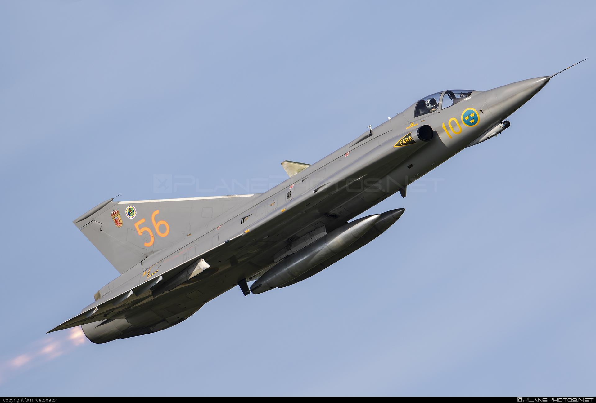 Saab J 35J Draken - SE-DXR operated by Swedish Air Force Historic Flight #draken #j35jdraken #saab #saab35 #saabdraken #saabj35draken #saabj35j #saabj35jdraken