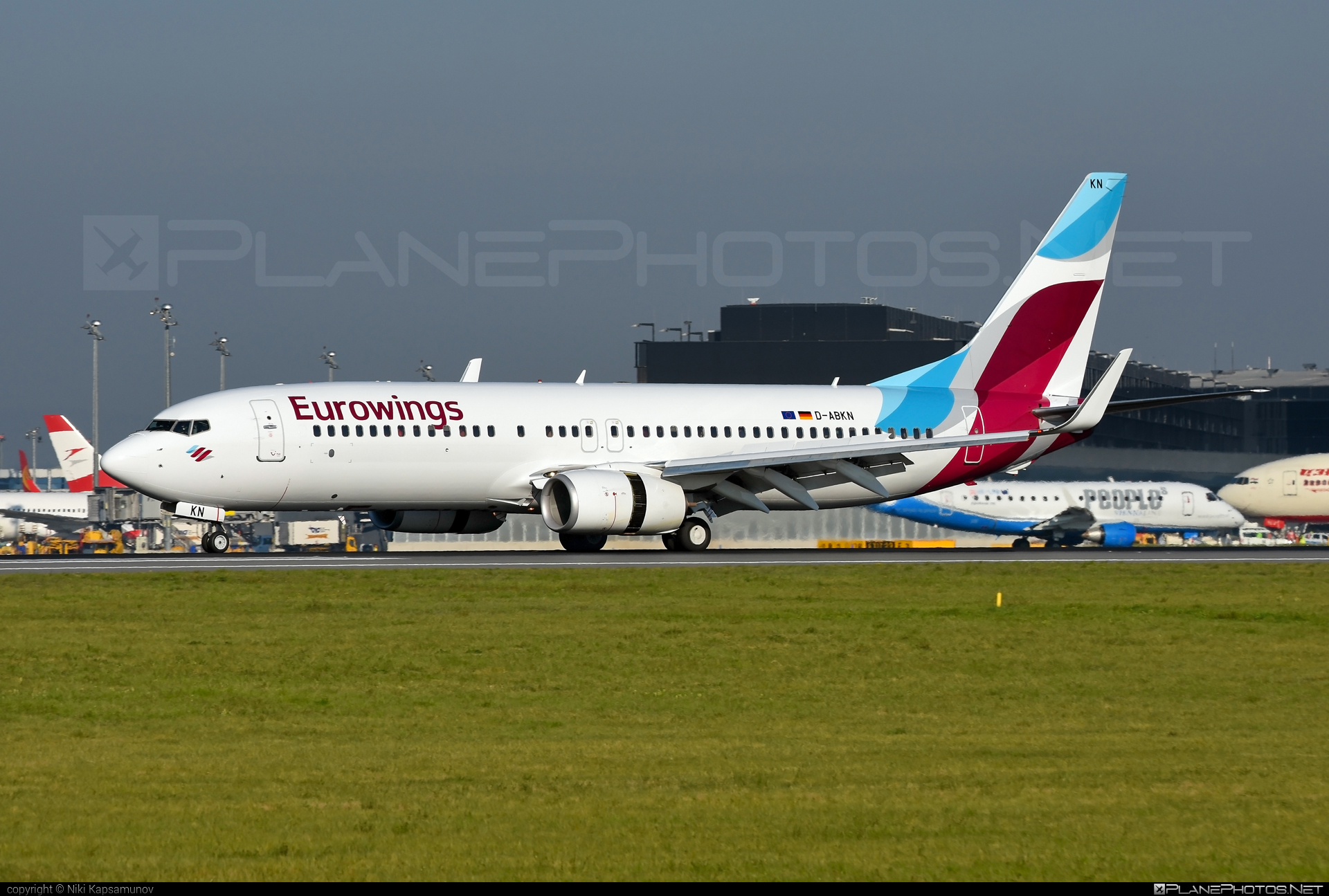 Boeing 737-800 - D-ABKN operated by Eurowings #b737 #b737nextgen #b737ng #boeing #boeing737 #eurowings