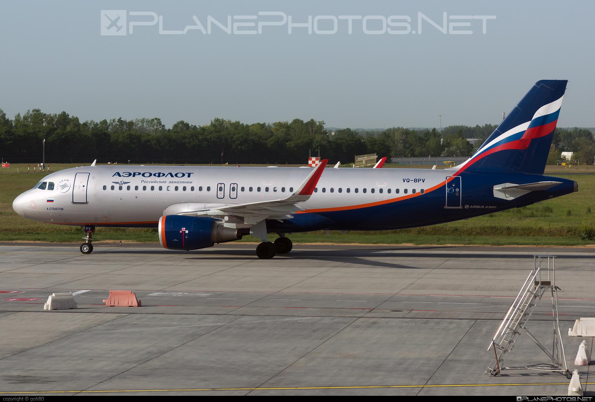 Airbus A320-214 - VQ-BPV operated by Aeroflot #a320 #a320family #aeroflot #airbus #airbus320