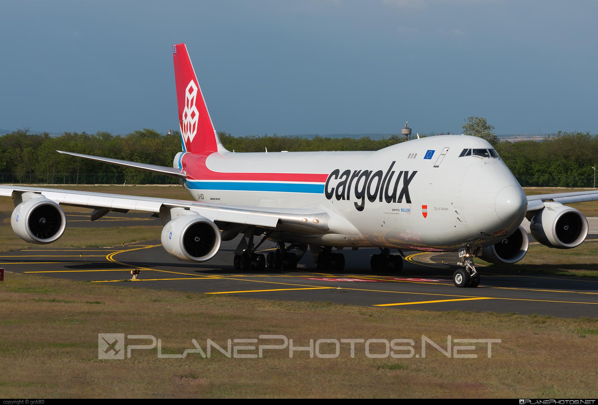 Boeing 747-8F - LX-VCA operated by Cargolux Airlines International #b747 #b747f #b747freighter #boeing #boeing747 #cargolux #jumbo