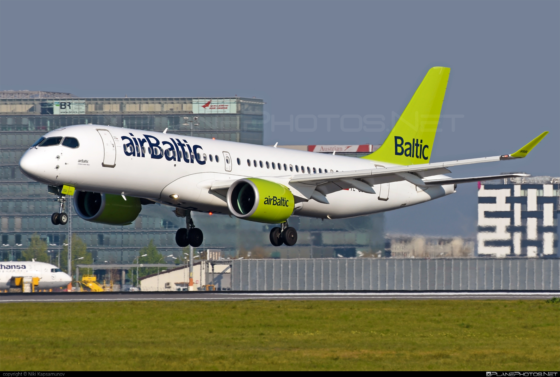 Airbus A220-300 - YL-CSJ operated by Air Baltic #a220300 #a220family #airbaltic #airbus #cs300 #cseries #cseries300
