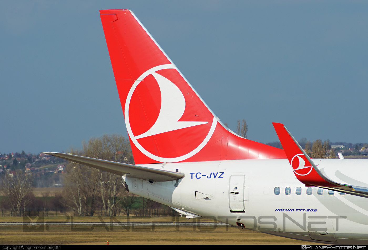 Boeing 737-800 - TC-JVZ operated by Turkish Airlines #b737 #b737nextgen #b737ng #boeing #boeing737 #turkishairlines