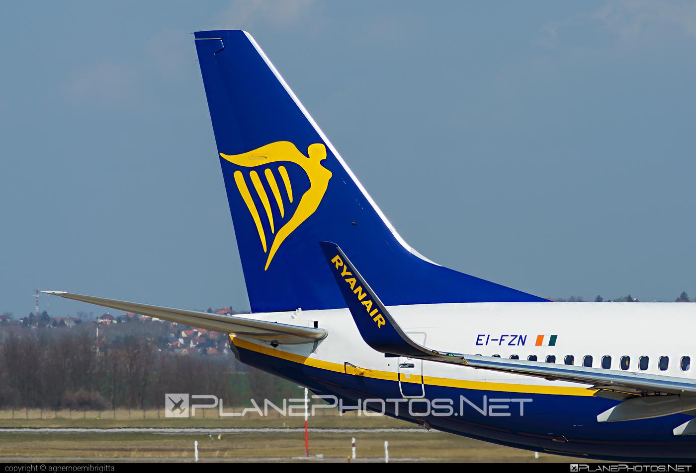 Boeing 737-800 - EI-FZN operated by Ryanair #b737 #b737nextgen #b737ng #boeing #boeing737 #ryanair