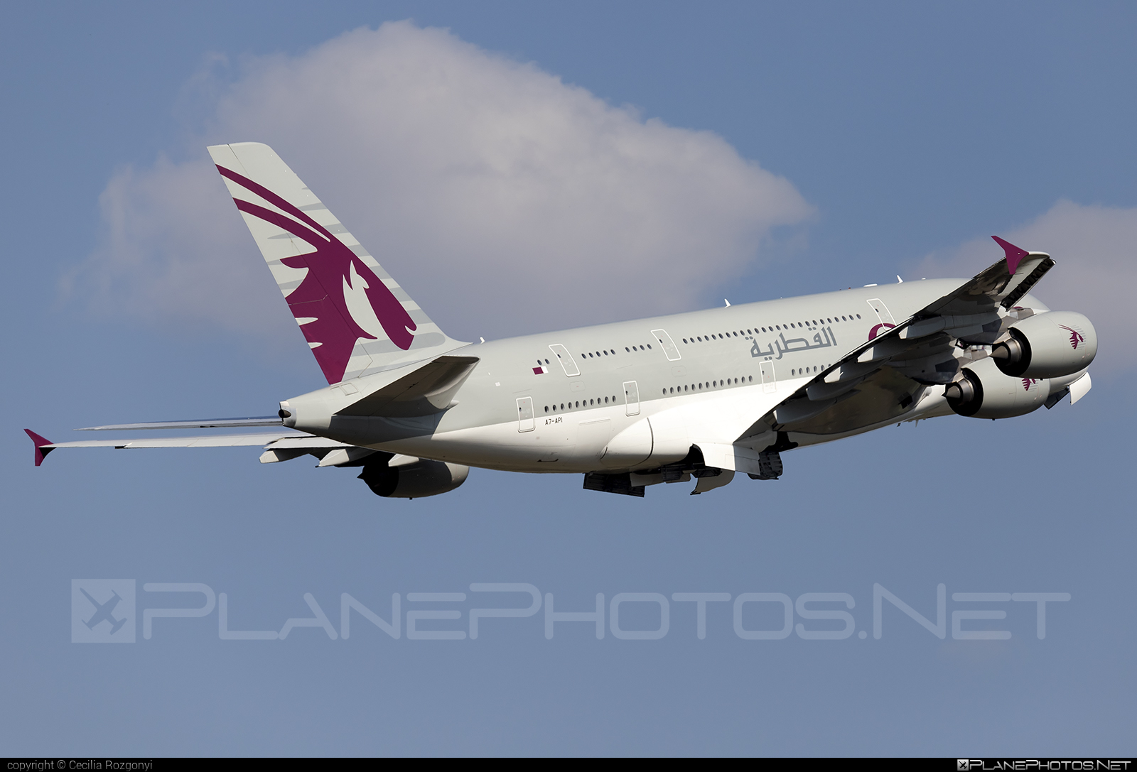 Airbus A380-861 - A7-API operated by Qatar Airways #a380 #a380family #airbus #airbus380 #qatarairways