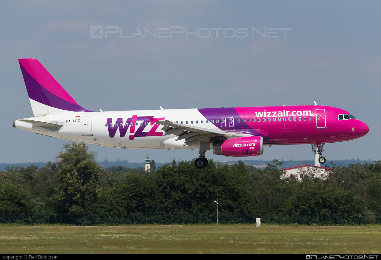 Airbus A320-232 - HA-LPZ operated by Wizz Air #a320 #a320family #airbus #airbus320 #wizz #wizzair