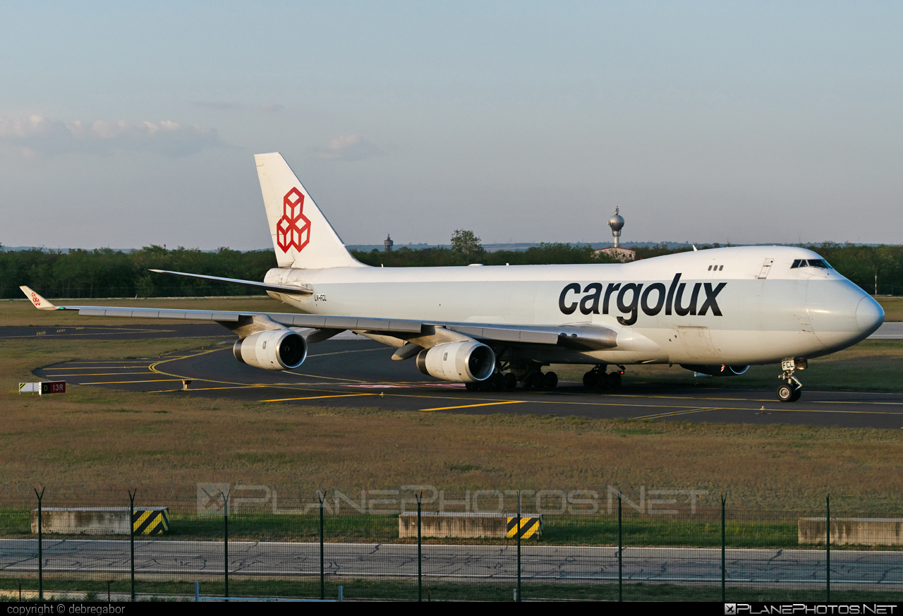 Boeing 747-400F - LX-FCL operated by Cargolux Airlines International #b747 #boeing #boeing747 #cargolux #jumbo