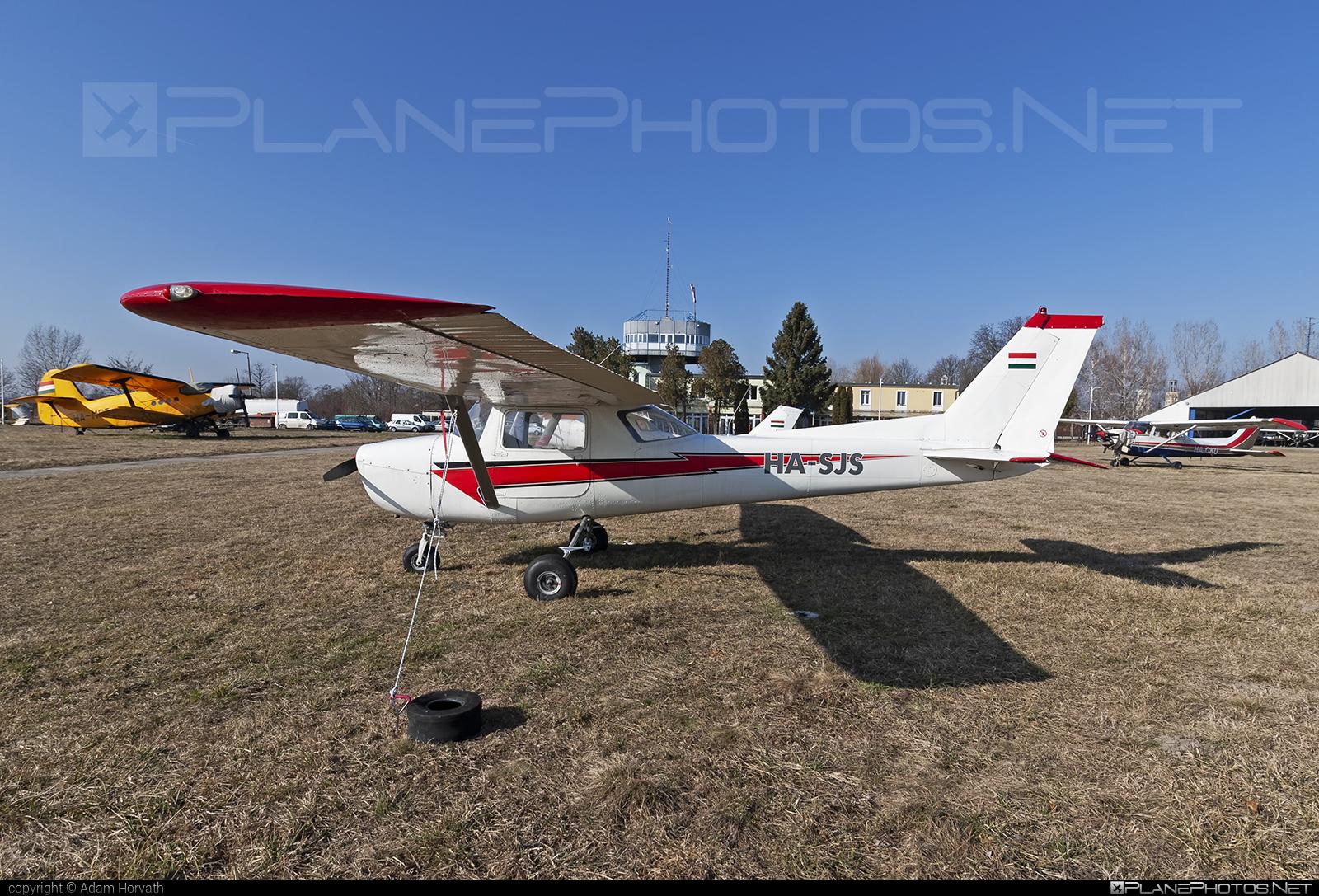 Cessna 150 - HA-SJS operated by Multifly Kft. #cessna #multifly #multiflykft