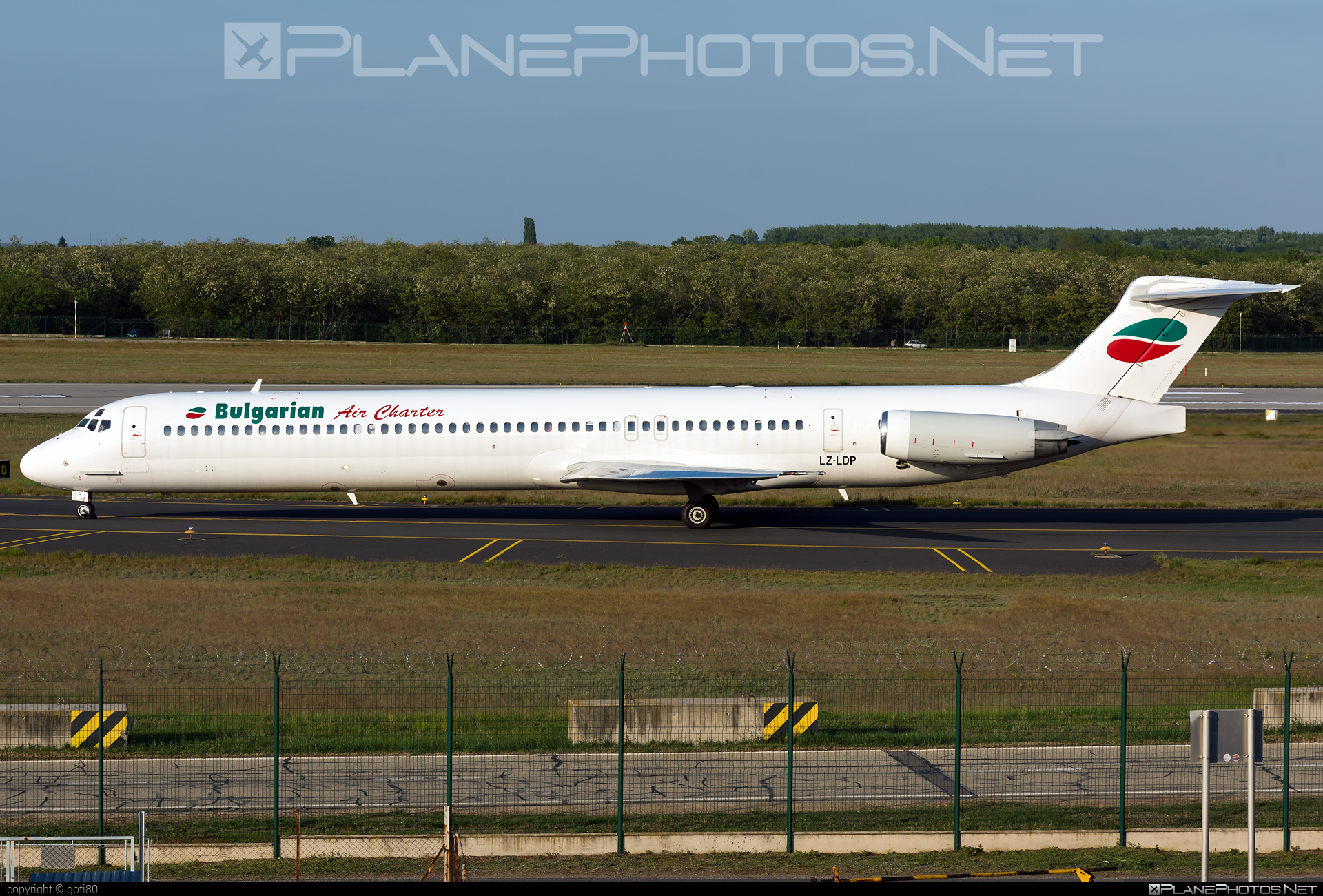 McDonnell Douglas MD-82 - LZ-LDP operated by Bulgarian Air Charter #bulgarianaircharter #mcdonnelldouglas #mcdonnelldouglas80 #mcdonnelldouglas82 #mcdonnelldouglasmd80 #mcdonnelldouglasmd82 #md80 #md82