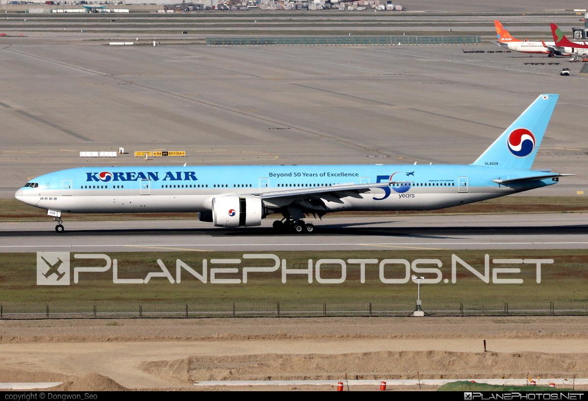 Boeing 777-300ER - HL8008 operated by Korean Air #b777 #b777er #boeing #boeing777 #koreanair #tripleseven