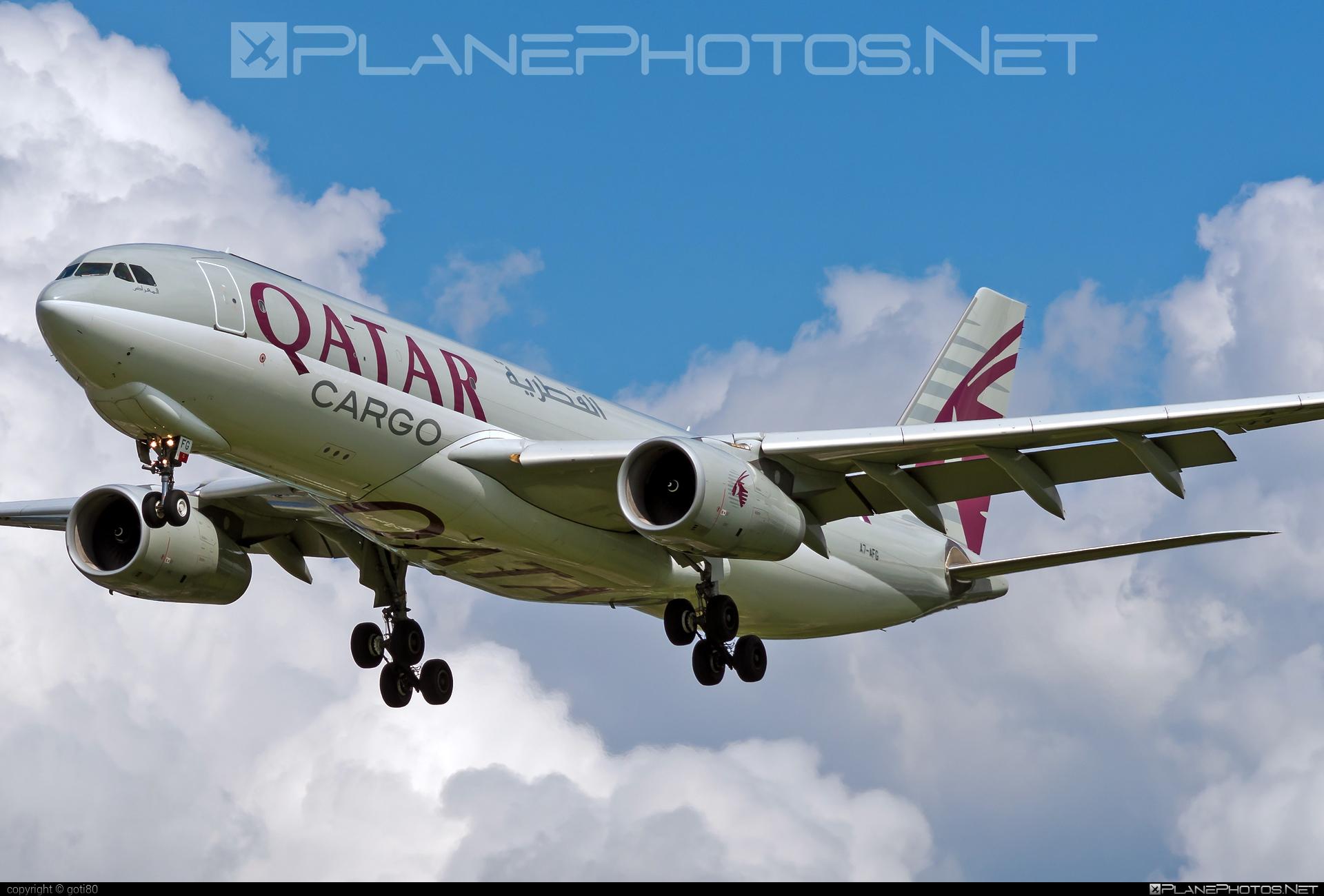 Airbus A330-243F - A7-AFG operated by Qatar Airways Cargo #a330 #a330f #a330family #airbus #airbus330 #qatarairwayscargo