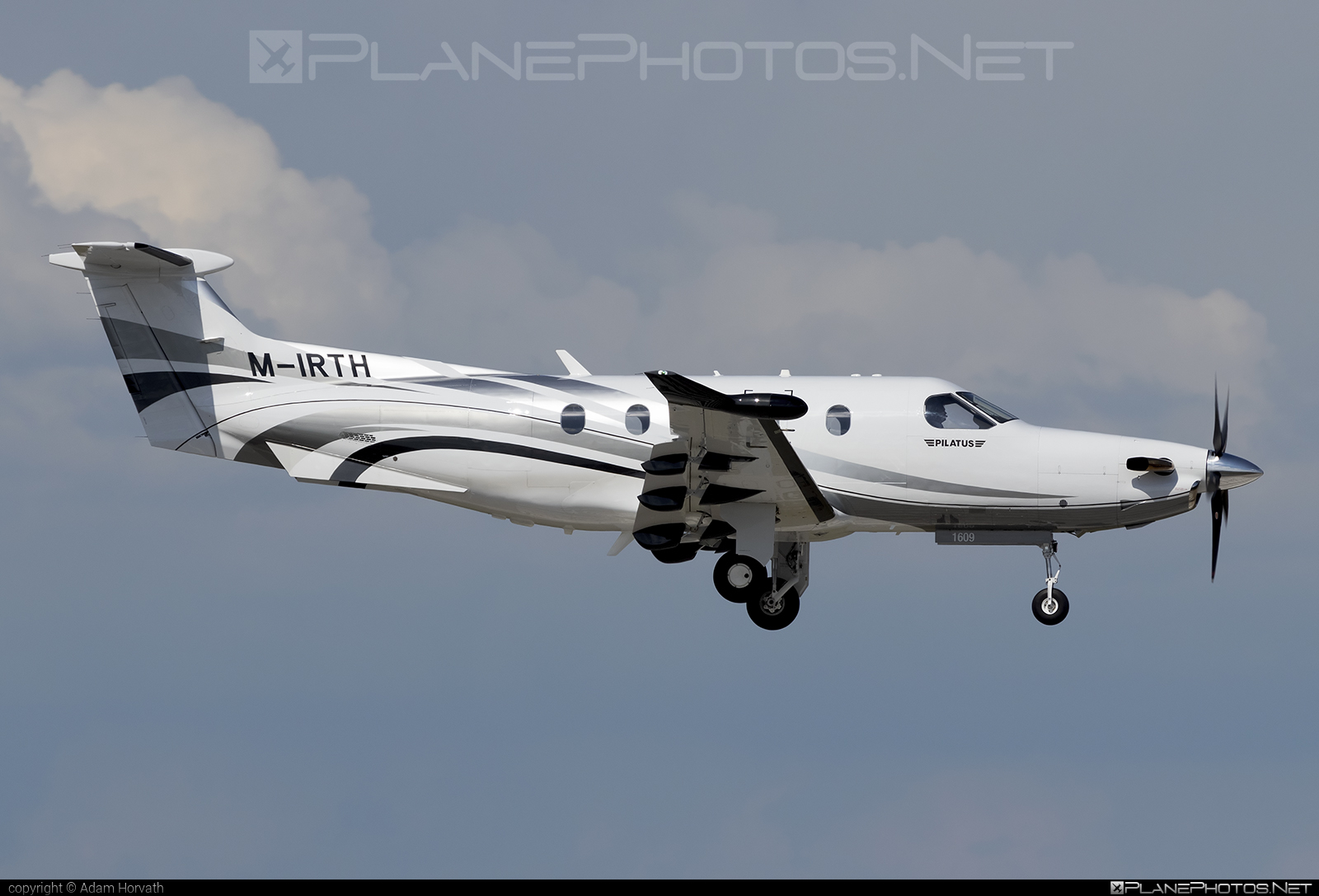Private operator Pilatus PC-12/47E - M-IRTH #pilatus